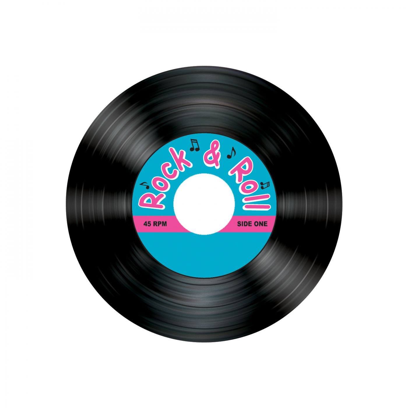 Rock & Roll Record Coasters image