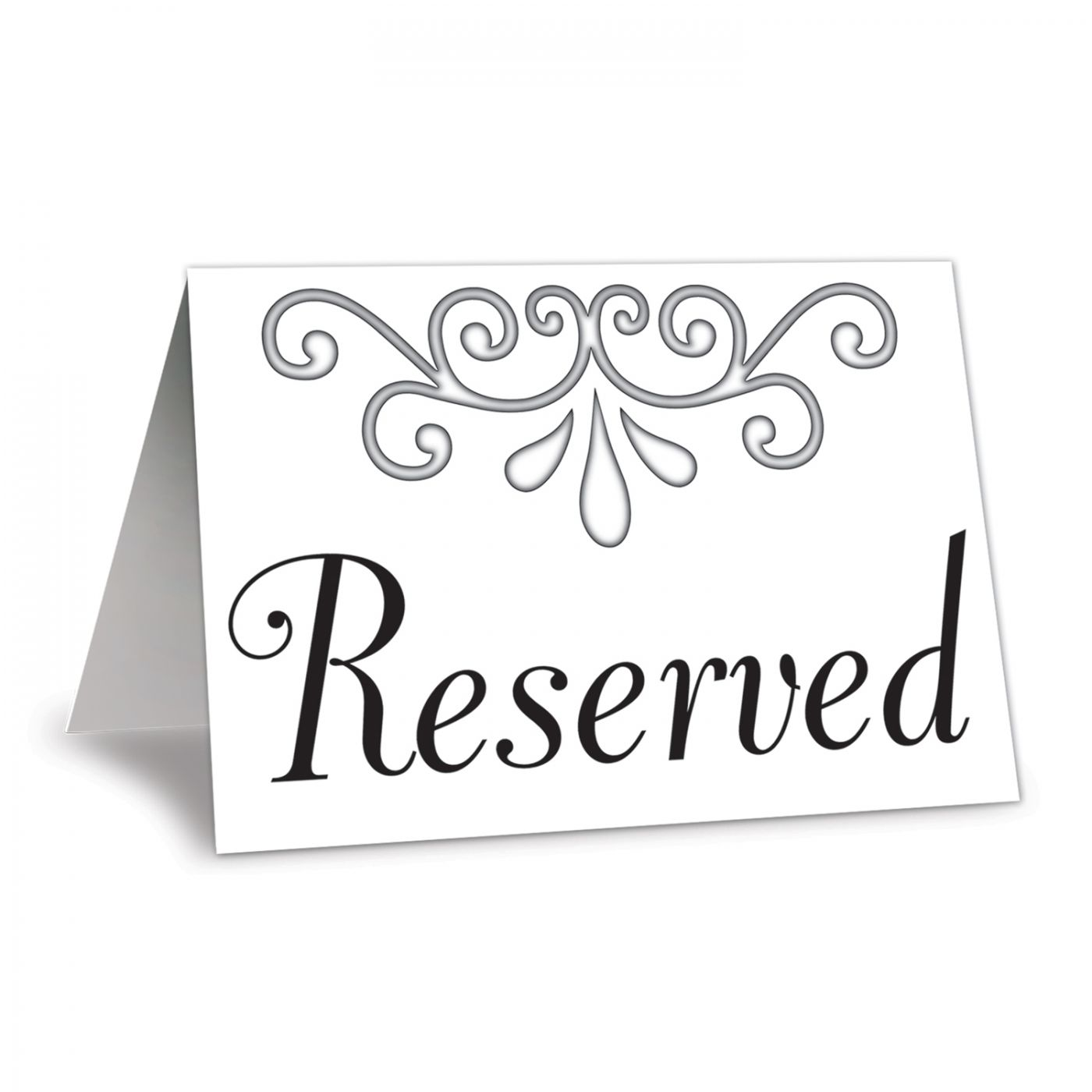 Reserved Table Cards image
