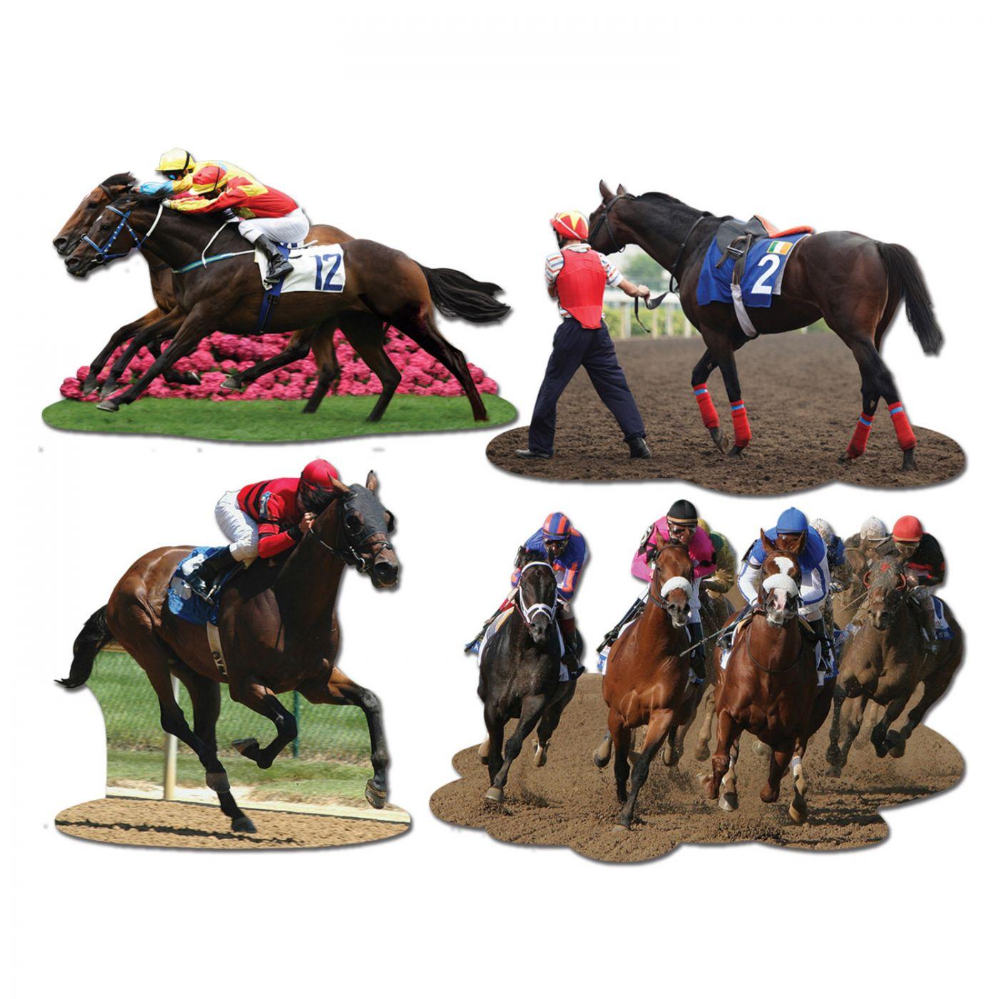 Image of Horse Racing Cutouts