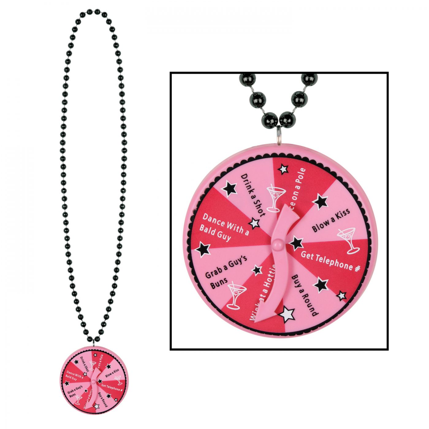 Beads w/Bachelorette Spinner Medallion image