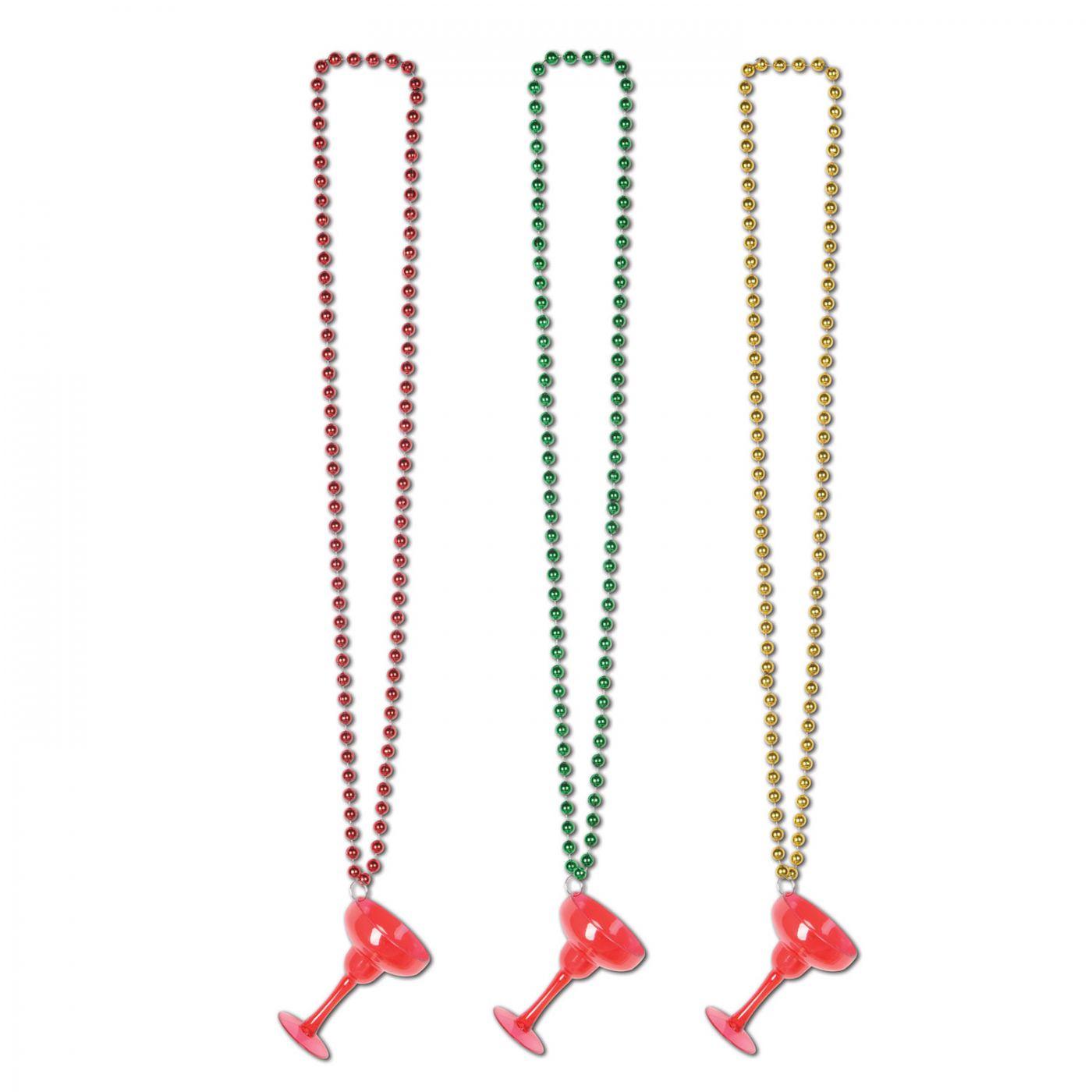 Image of Beads w/Margarita Glass
