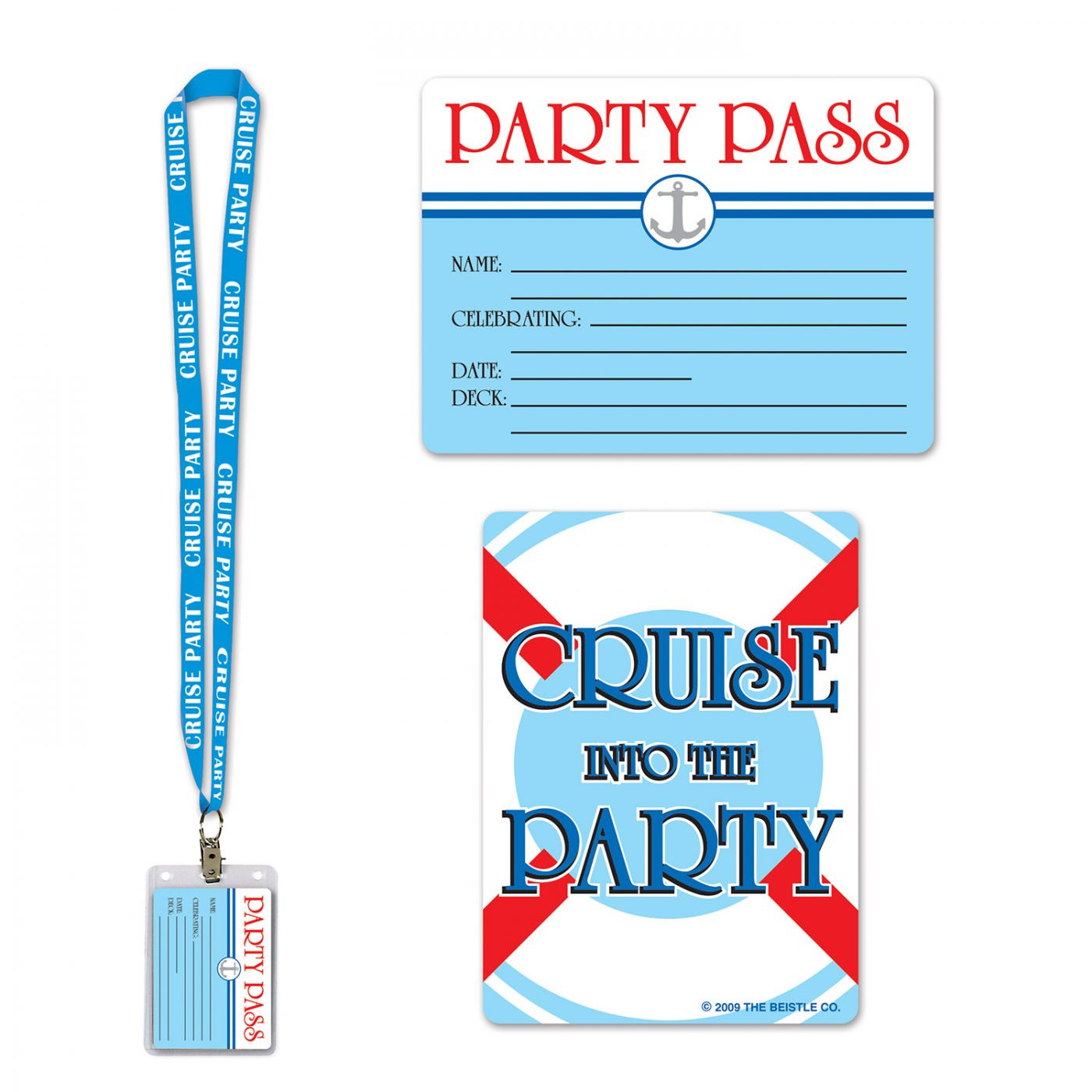 Cruise Ship Party Pass image