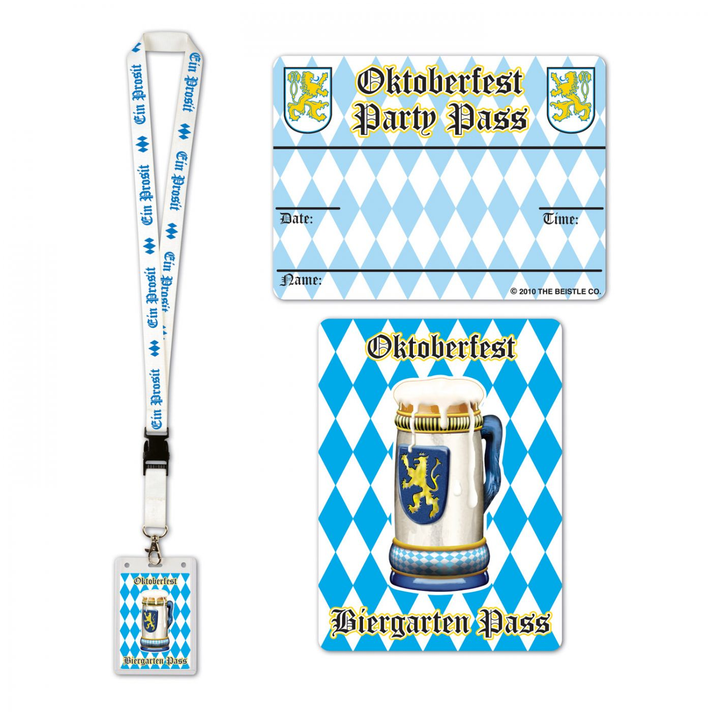 Oktoberfest Party Pass image