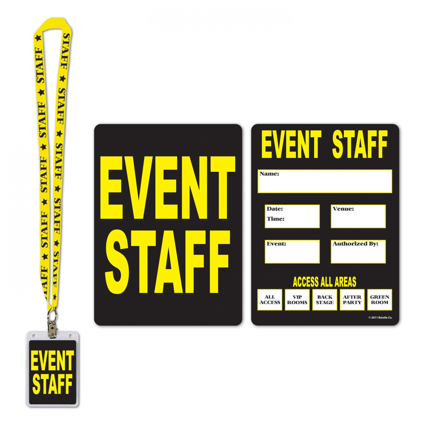 Event Staff Party Pass image