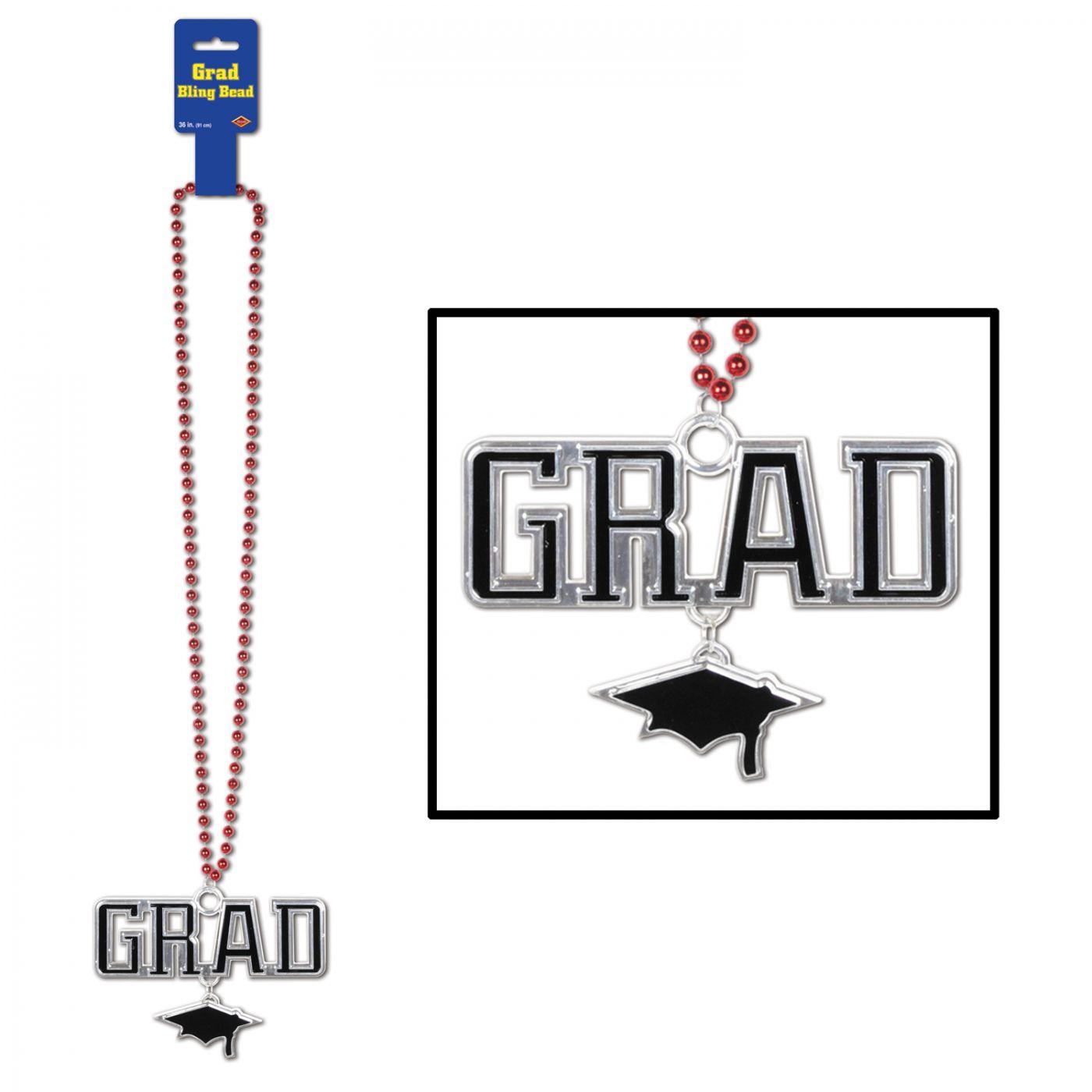 Image of Beads w/Grad Medallion