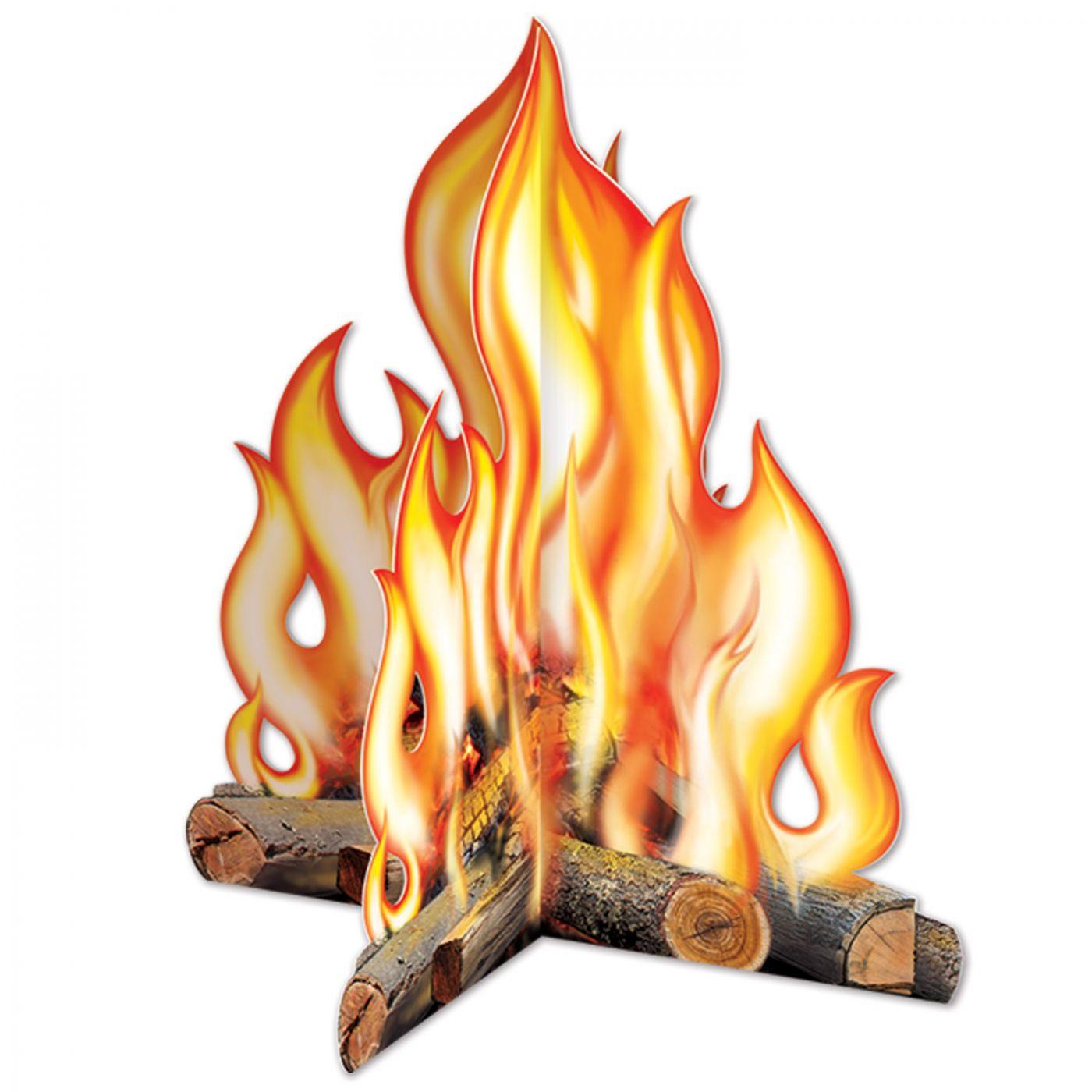 Image of 3-D Campfire Centerpiece