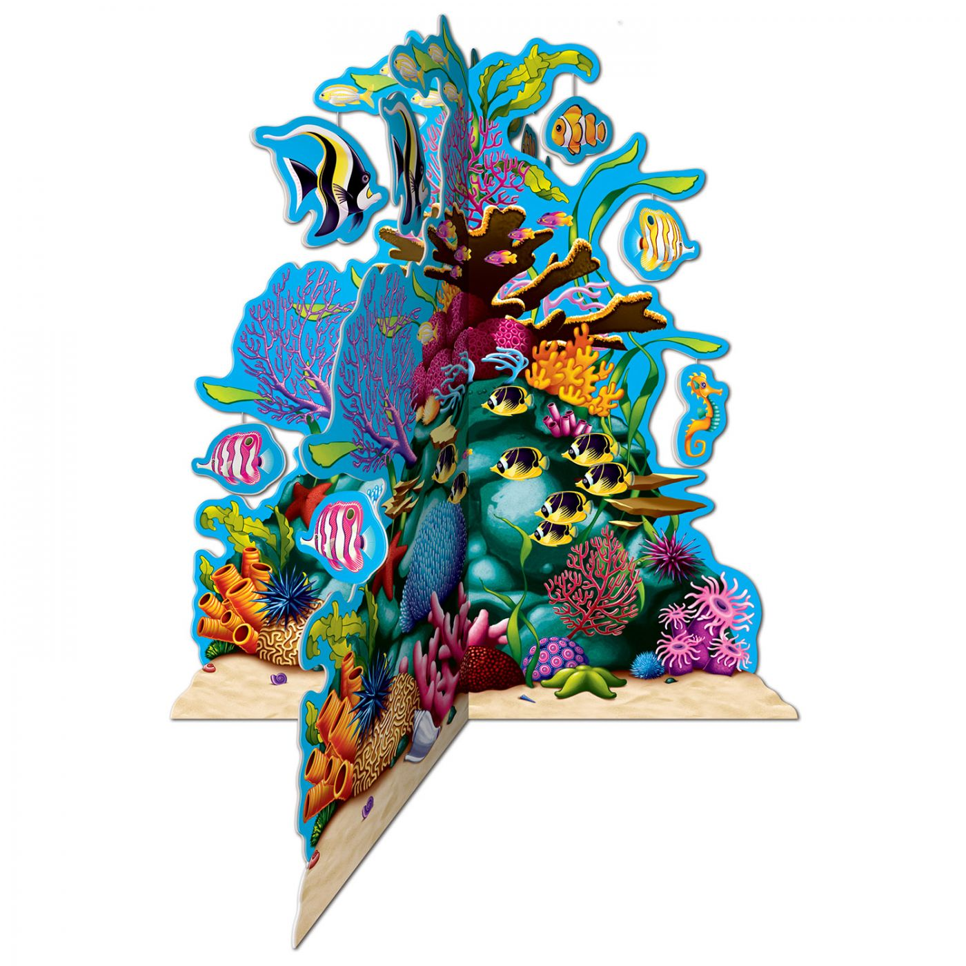 Image of 3-D Coral Reef Centerpiece