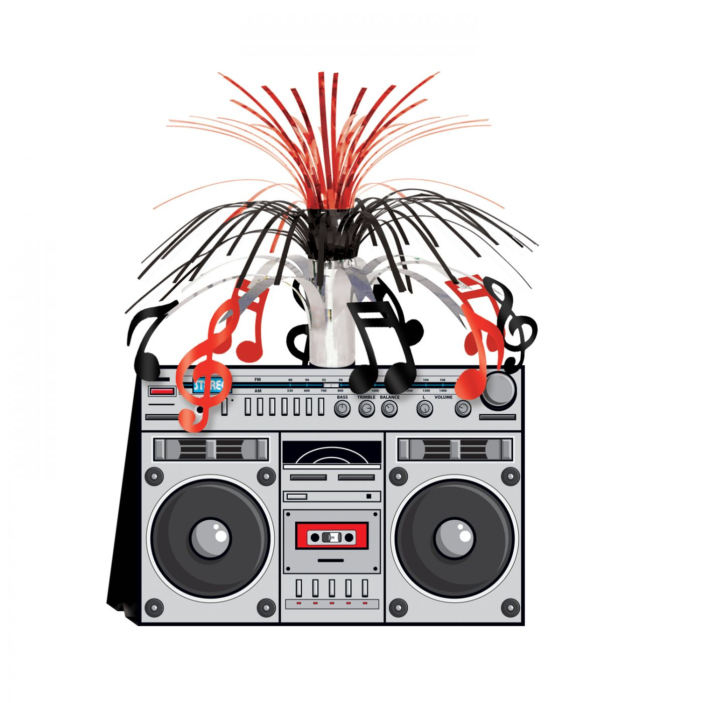 Image of Boom Box Centerpiece