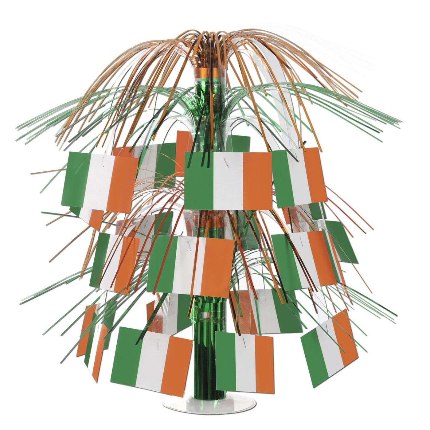 Irish Flag Cascade Centerpiece (6) image