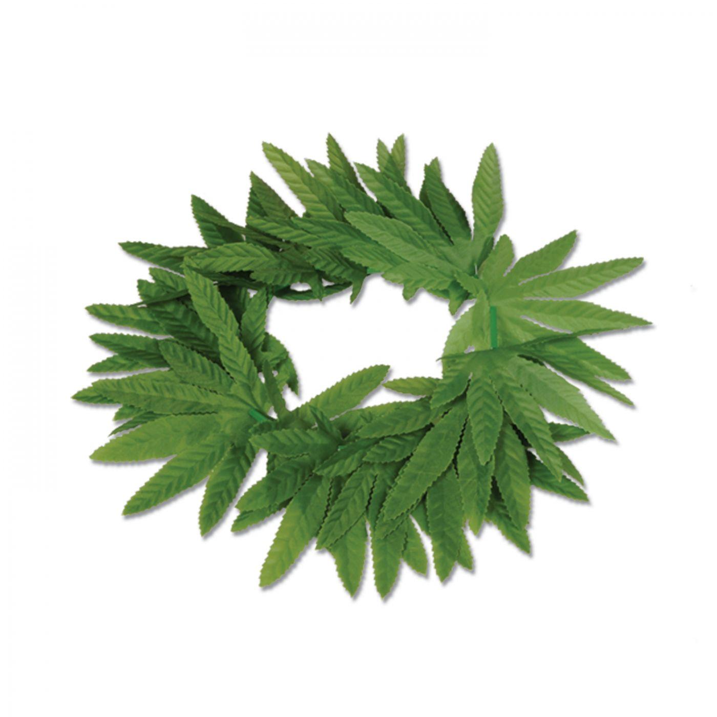 Tropical Fern Leaf Headband image