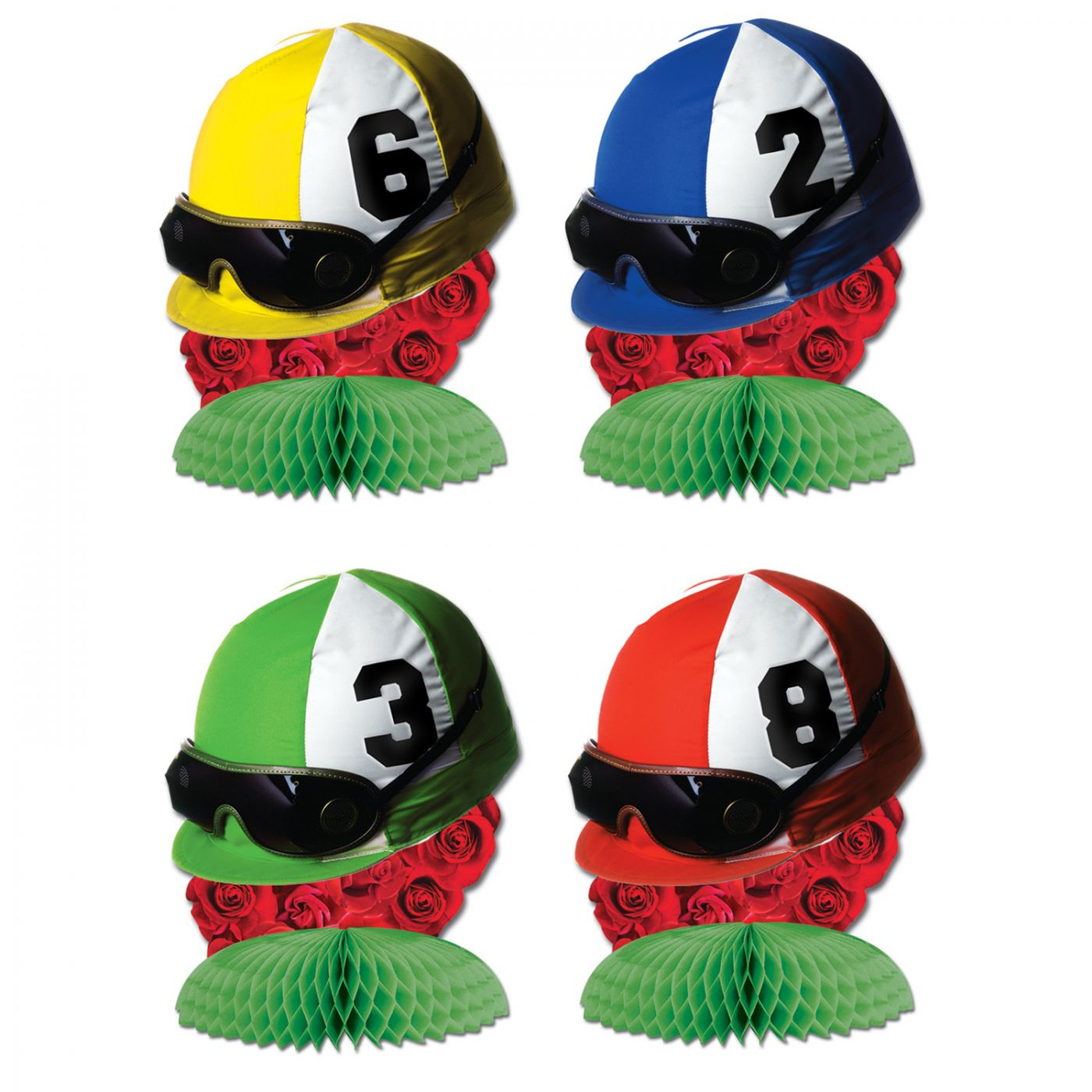 Image of Jockey Helmet Centerpieces