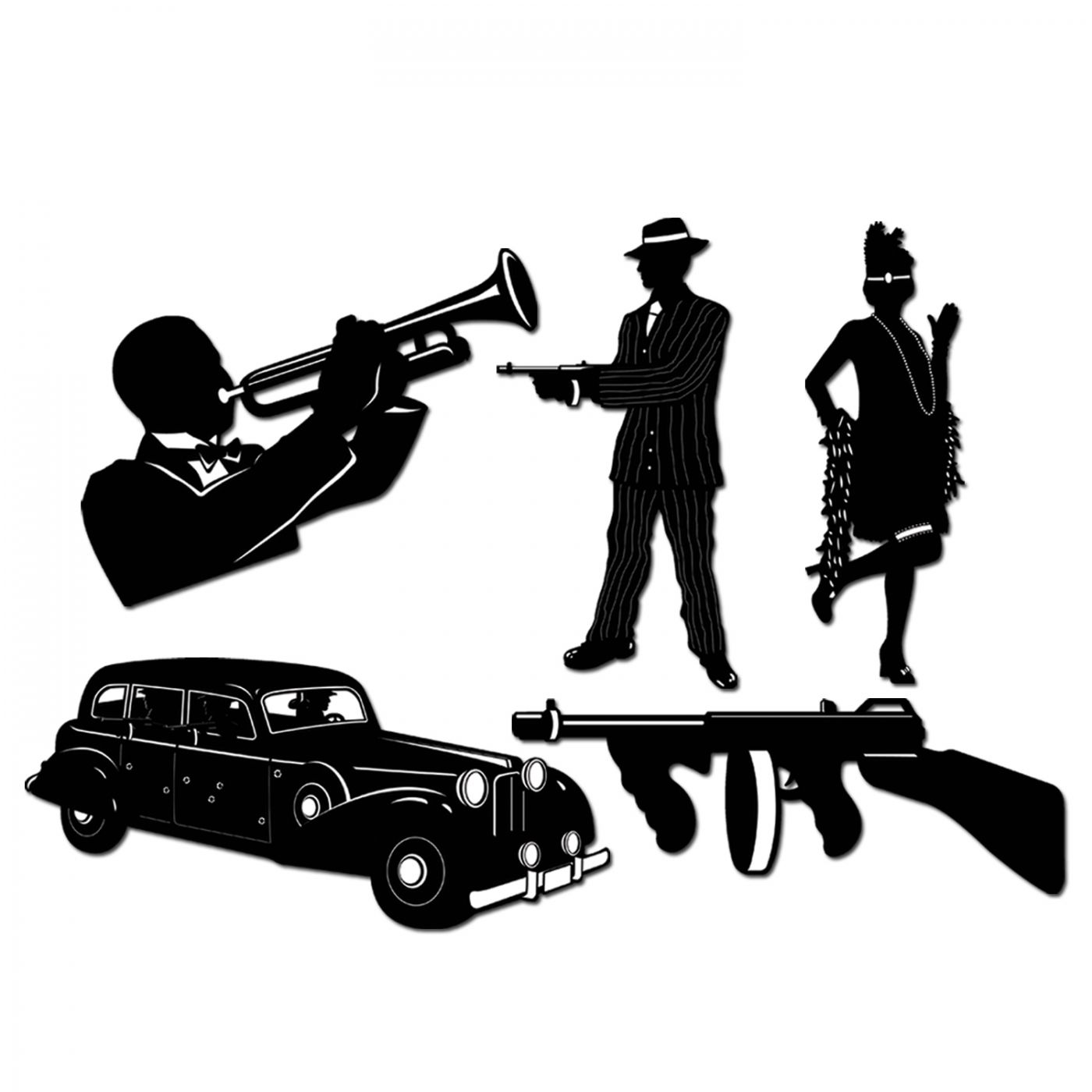 Gangster Silhouettes image