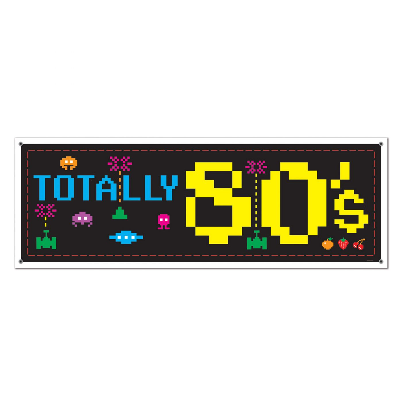 Image of 80's Sign Banner
