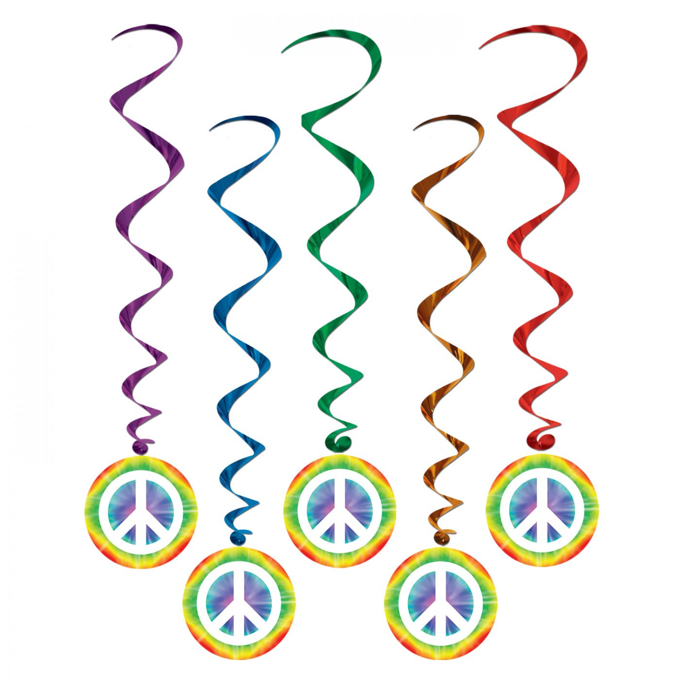 Peace Sign Whirls (6) image