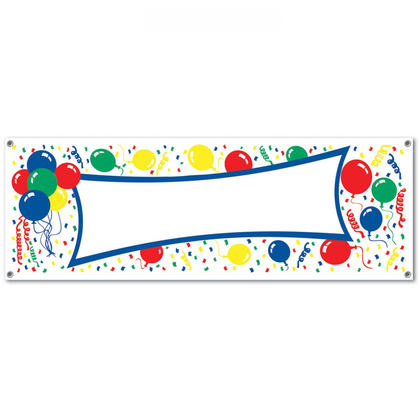 Image of Balloons Sign Banner