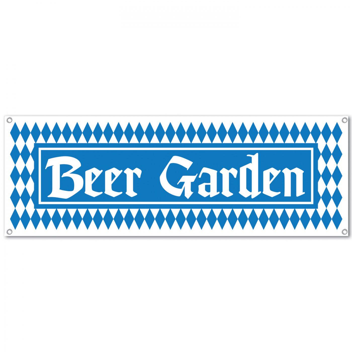 Image of Beer Garden Sign Banner