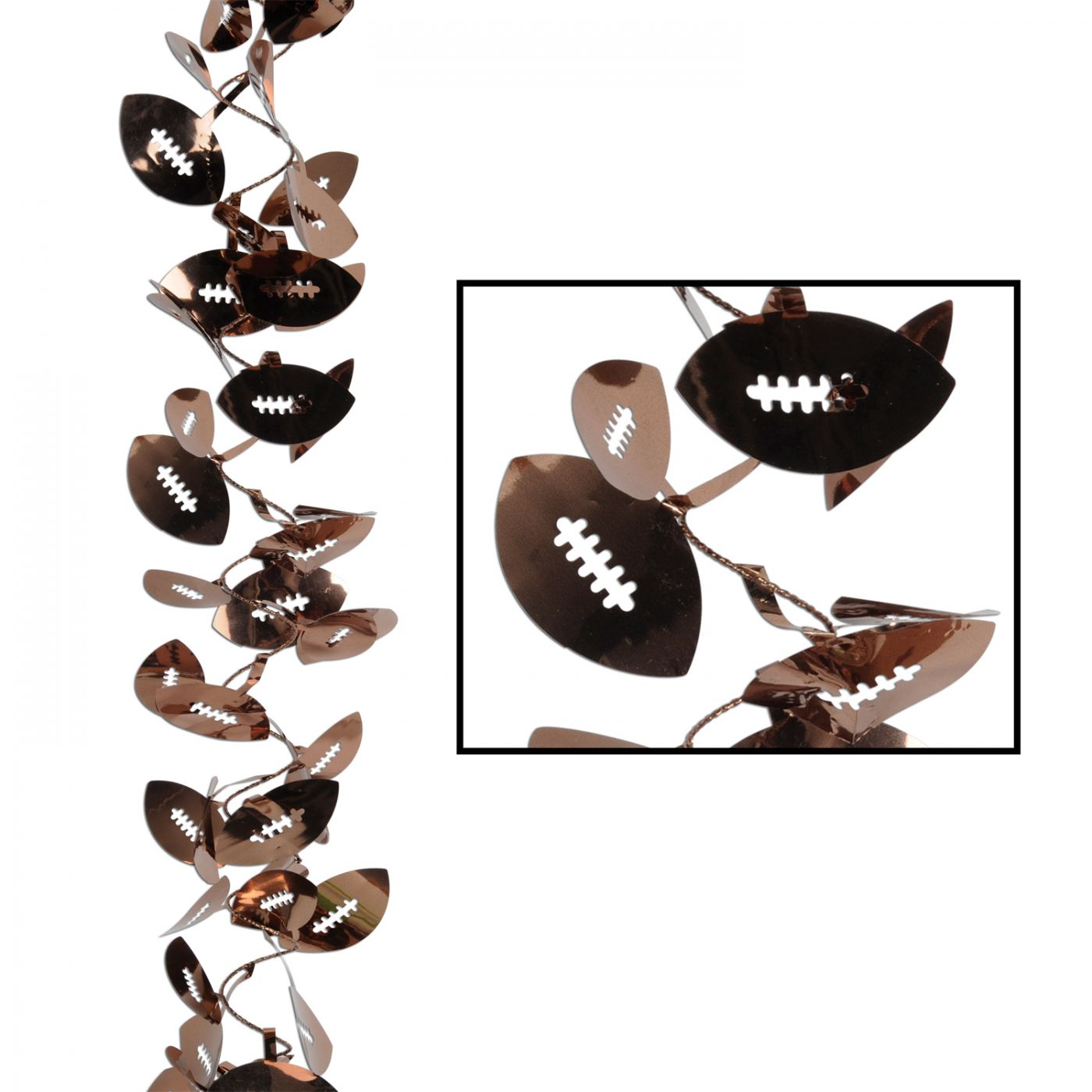 Gleam 'N Flex Football Garland image