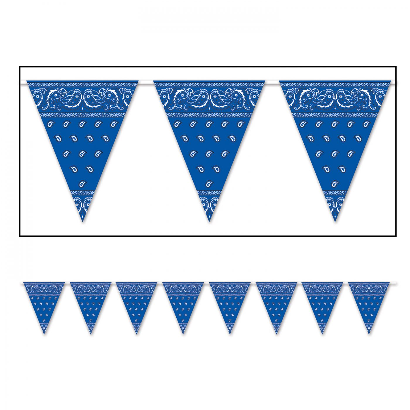 Image of Bandana Pennant Banner