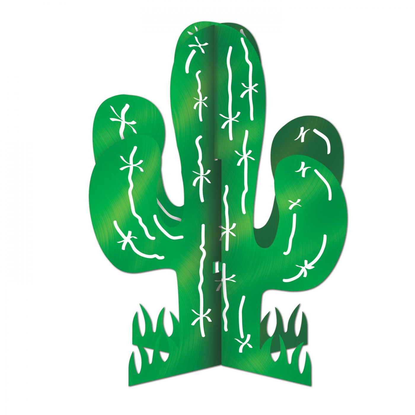 Image of 3-D Cactus Centerpiece
