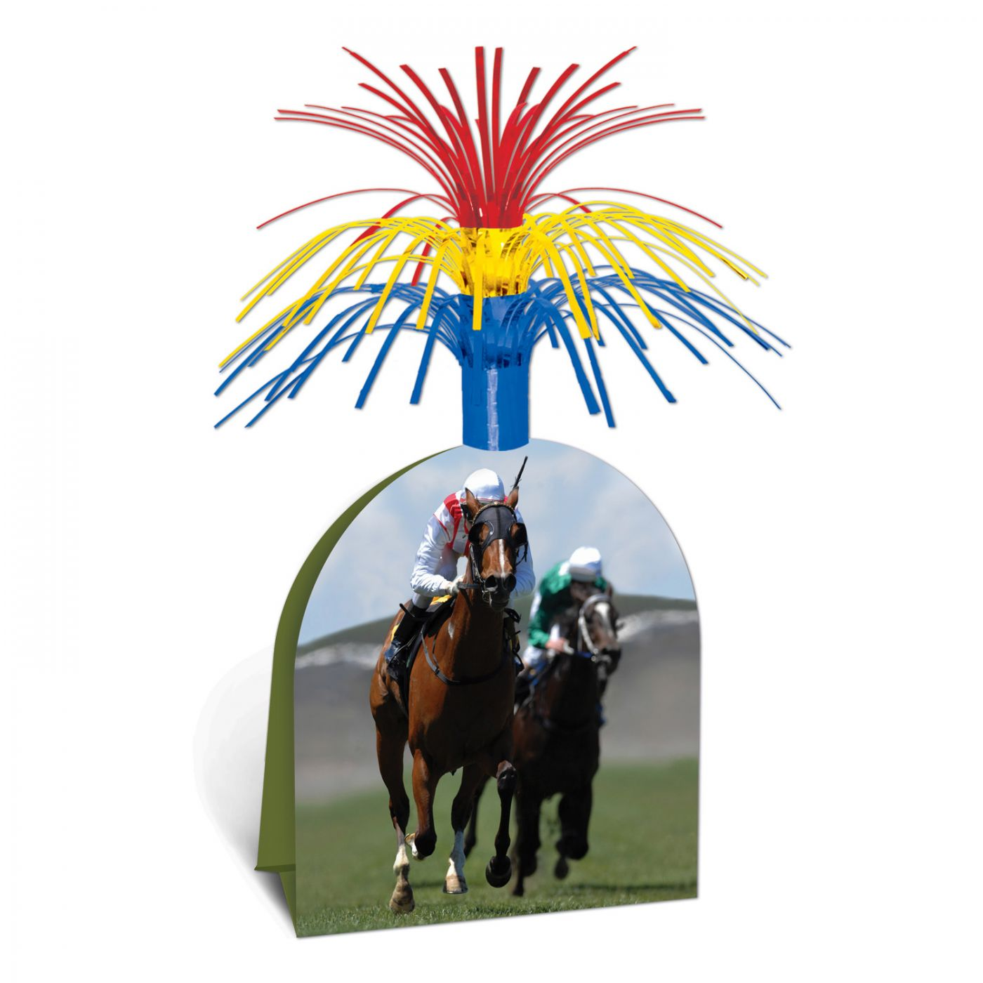 Image of Horse Racing Centerpiece