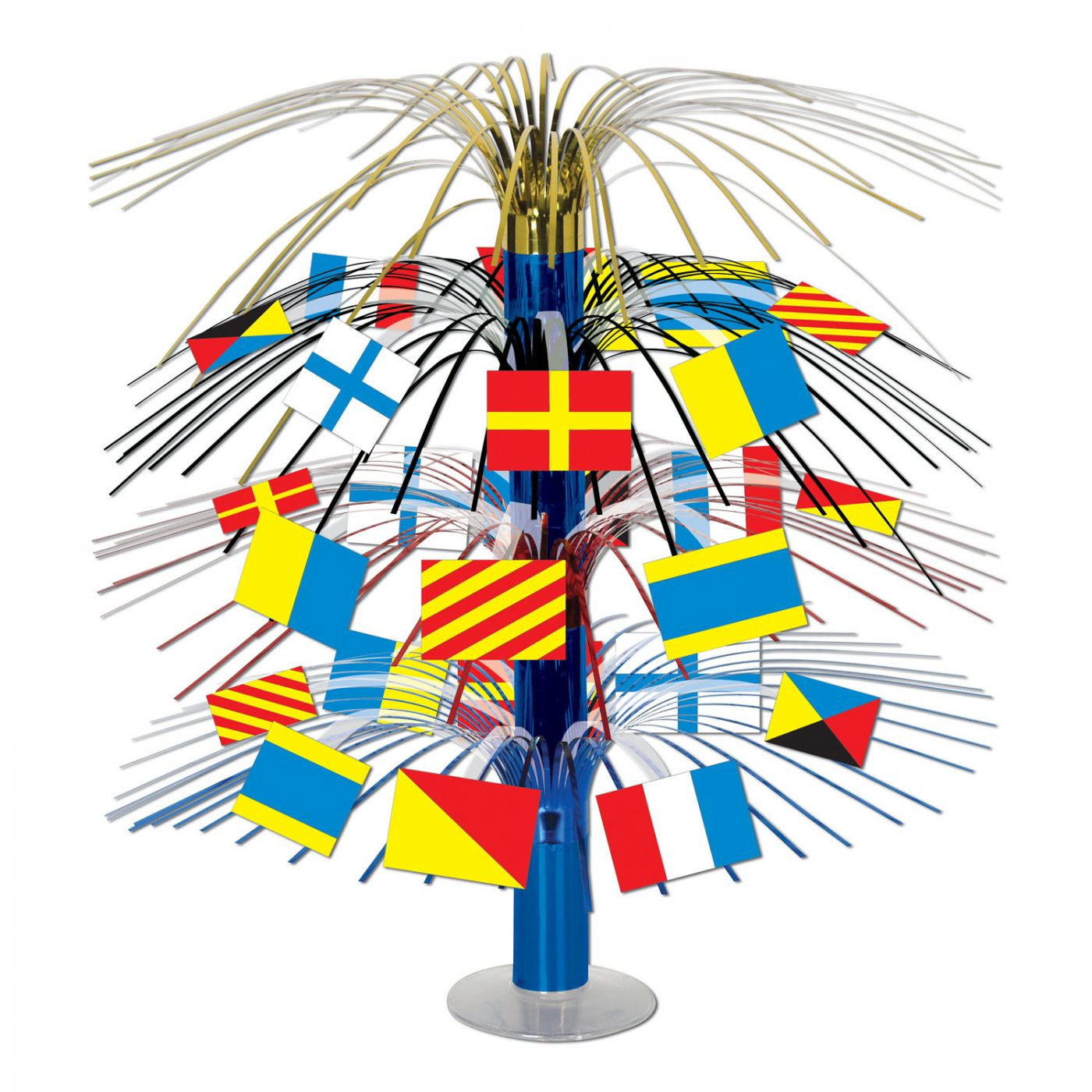 Nautical Flag Cascade Centerpiece (6) image