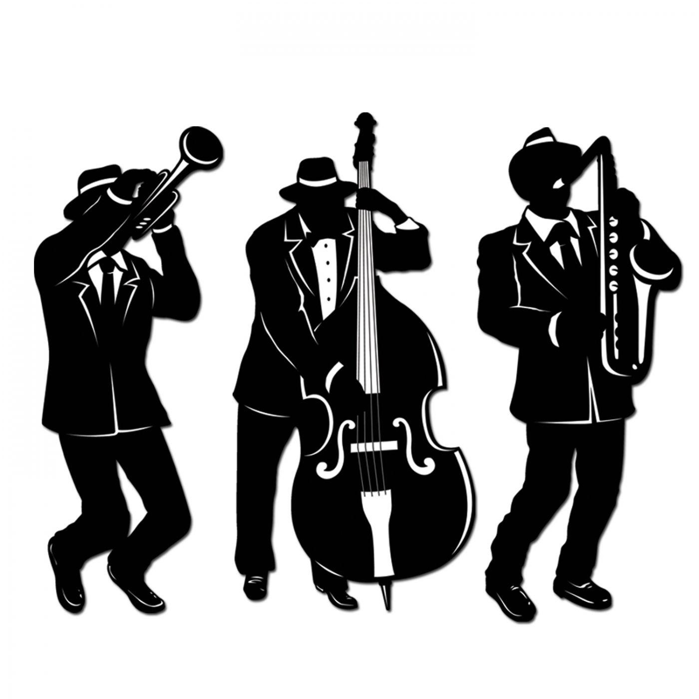 Jazz Trio Silhouettes image