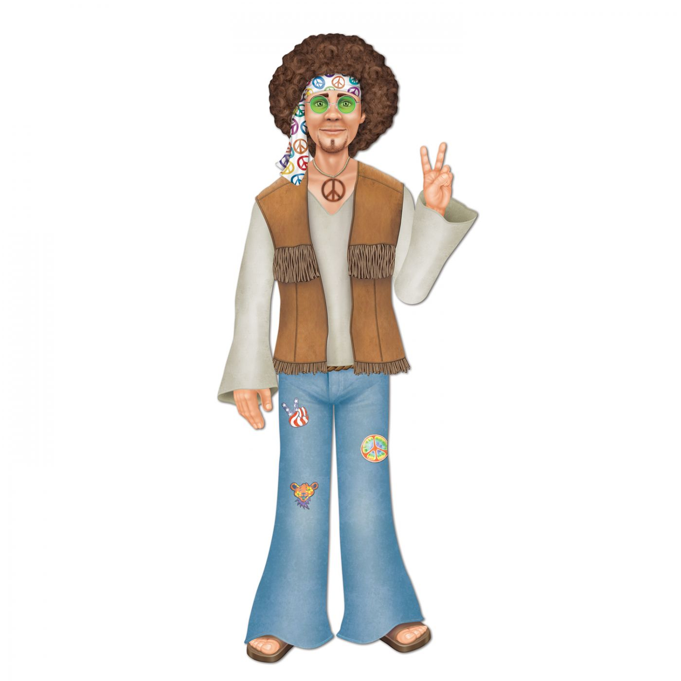 Jointed Male Hippie image