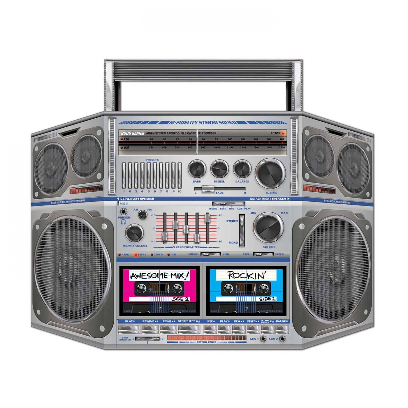 Image of Boom Box Stand-Up (6)