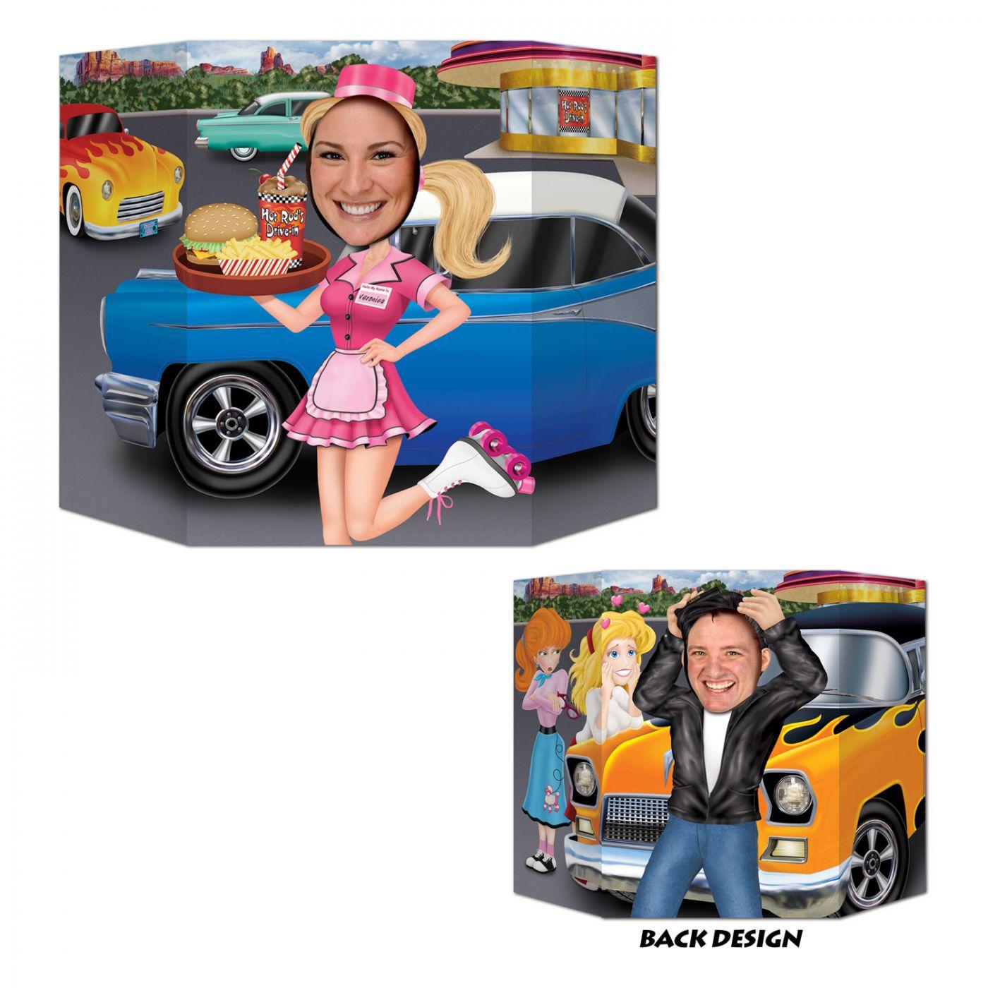 Car Hop/Greaser Photo Prop (6) image