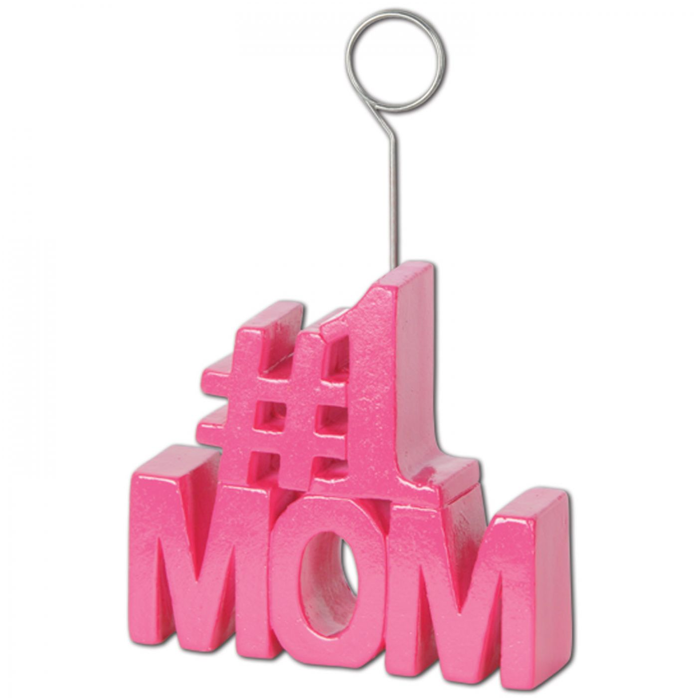 Image of #1 Mom Photo/Balloon Holder (6)