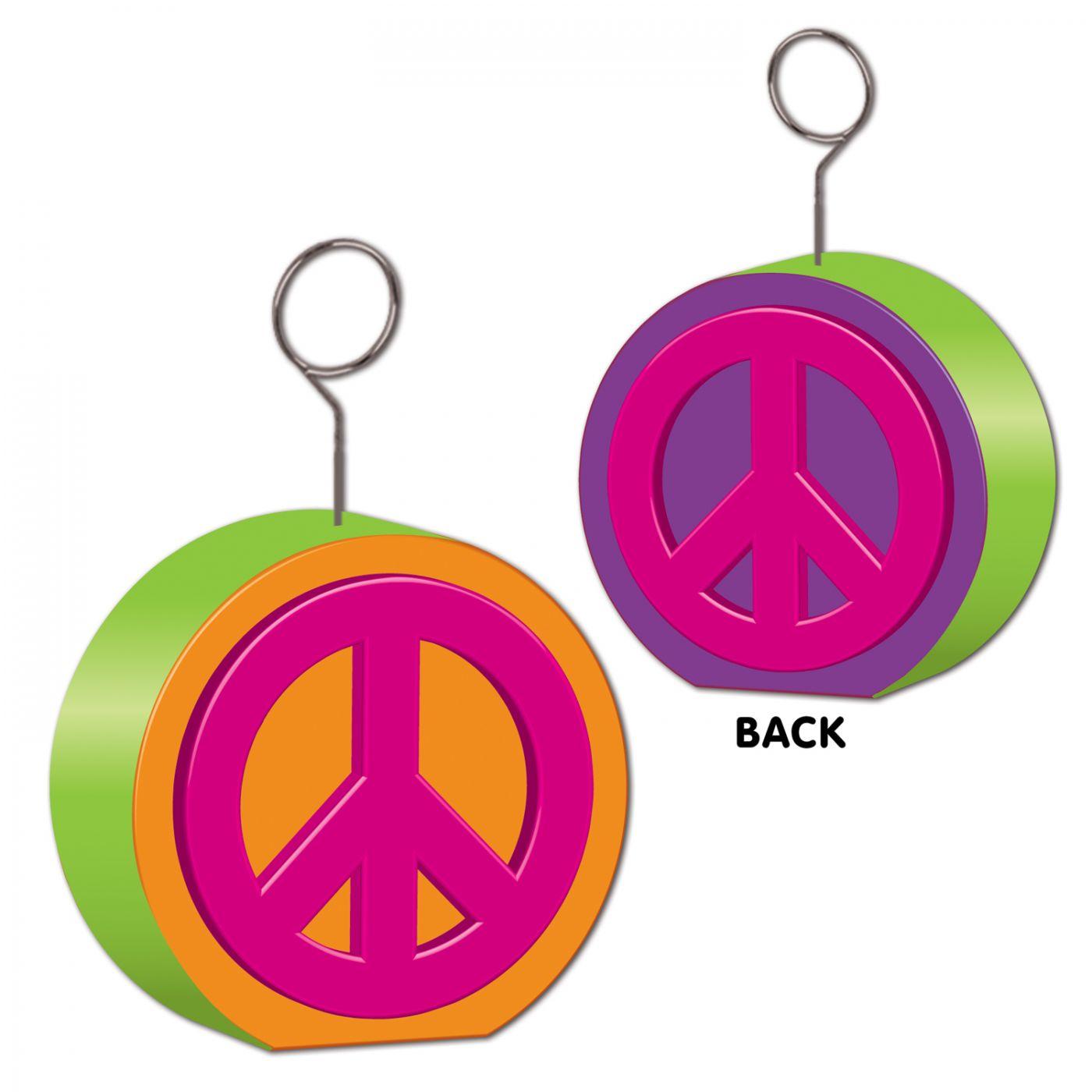 Peace Sign Photo/Balloon Holder (6) image