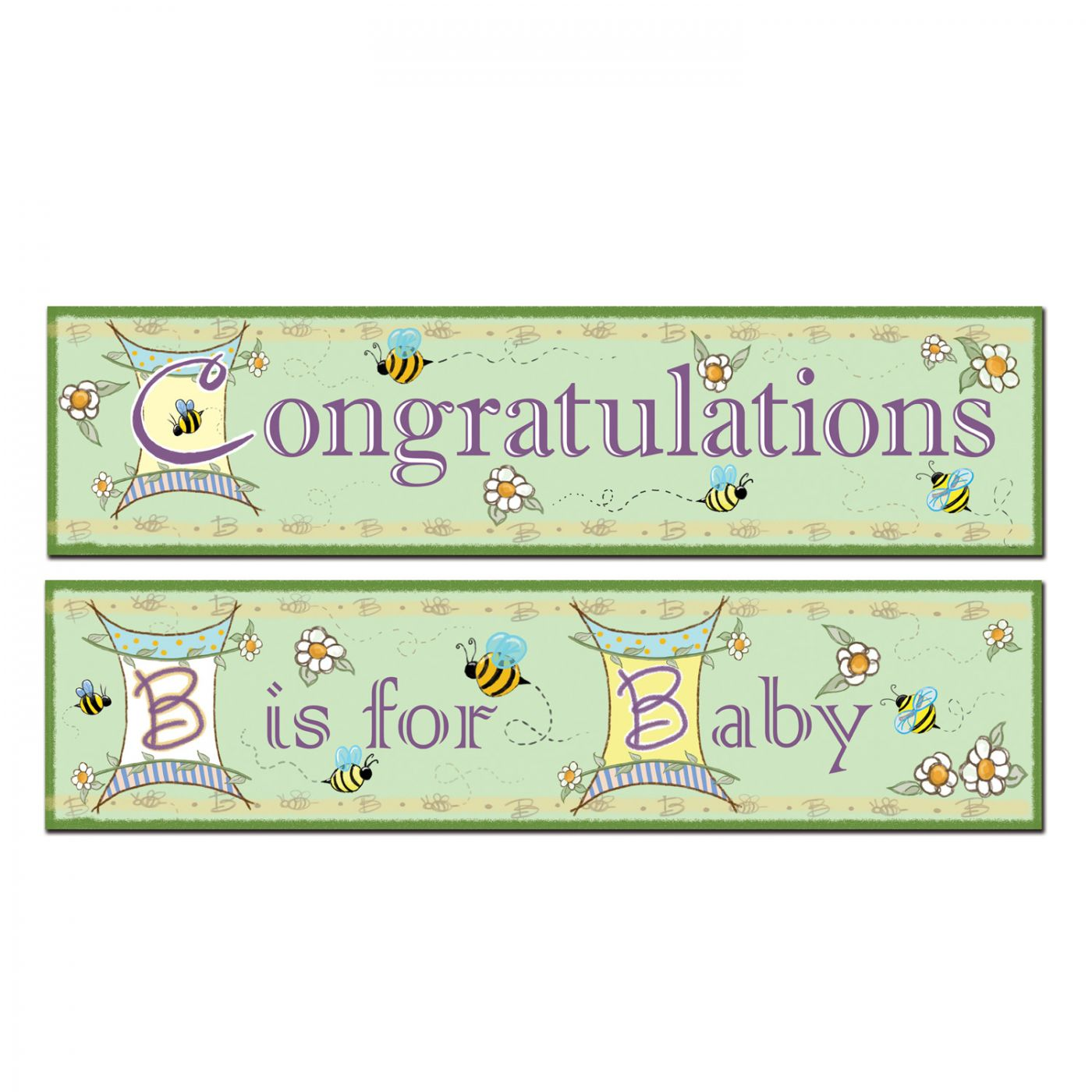 Image of B Is For Baby Banners