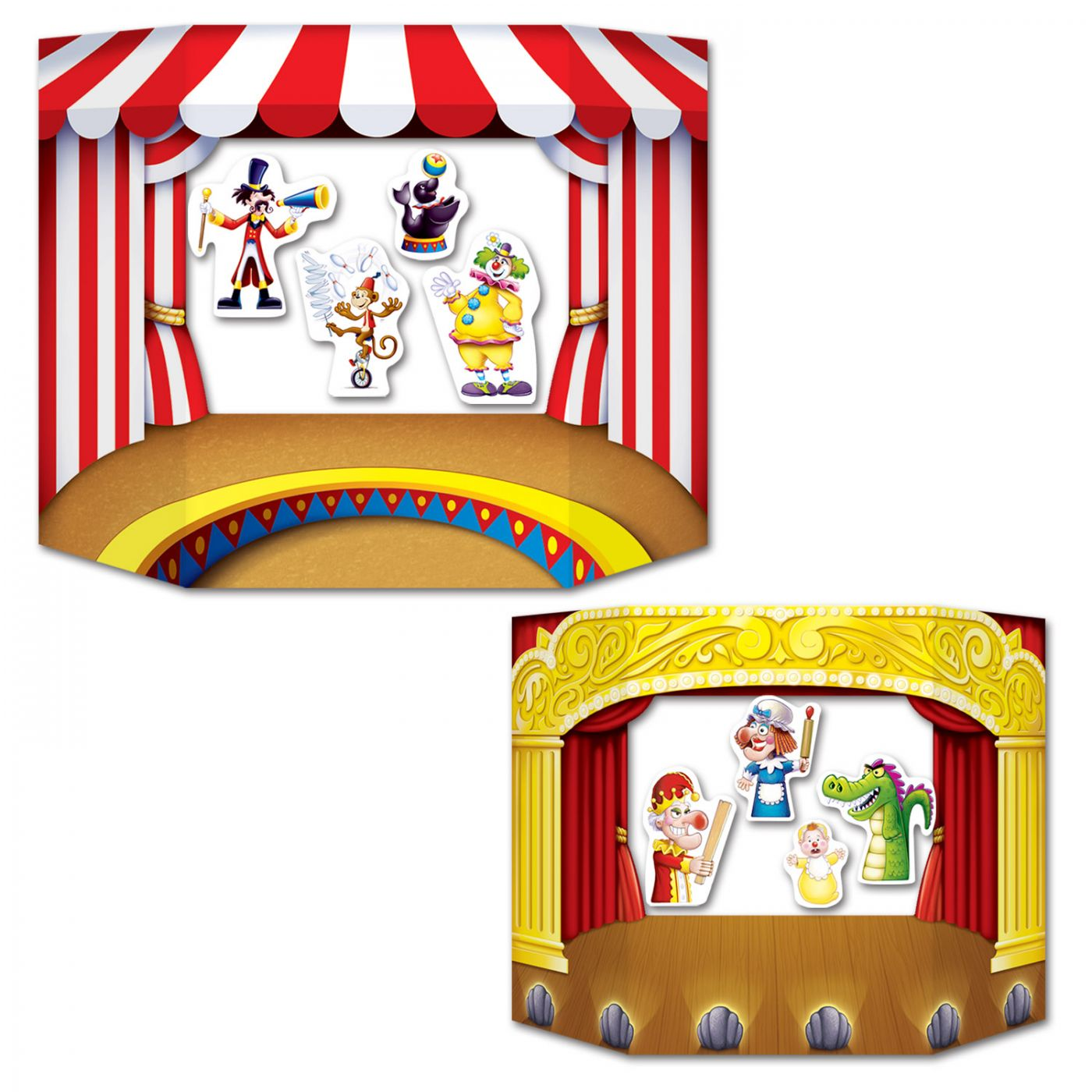 Puppet Show Theater Photo Prop (6) image