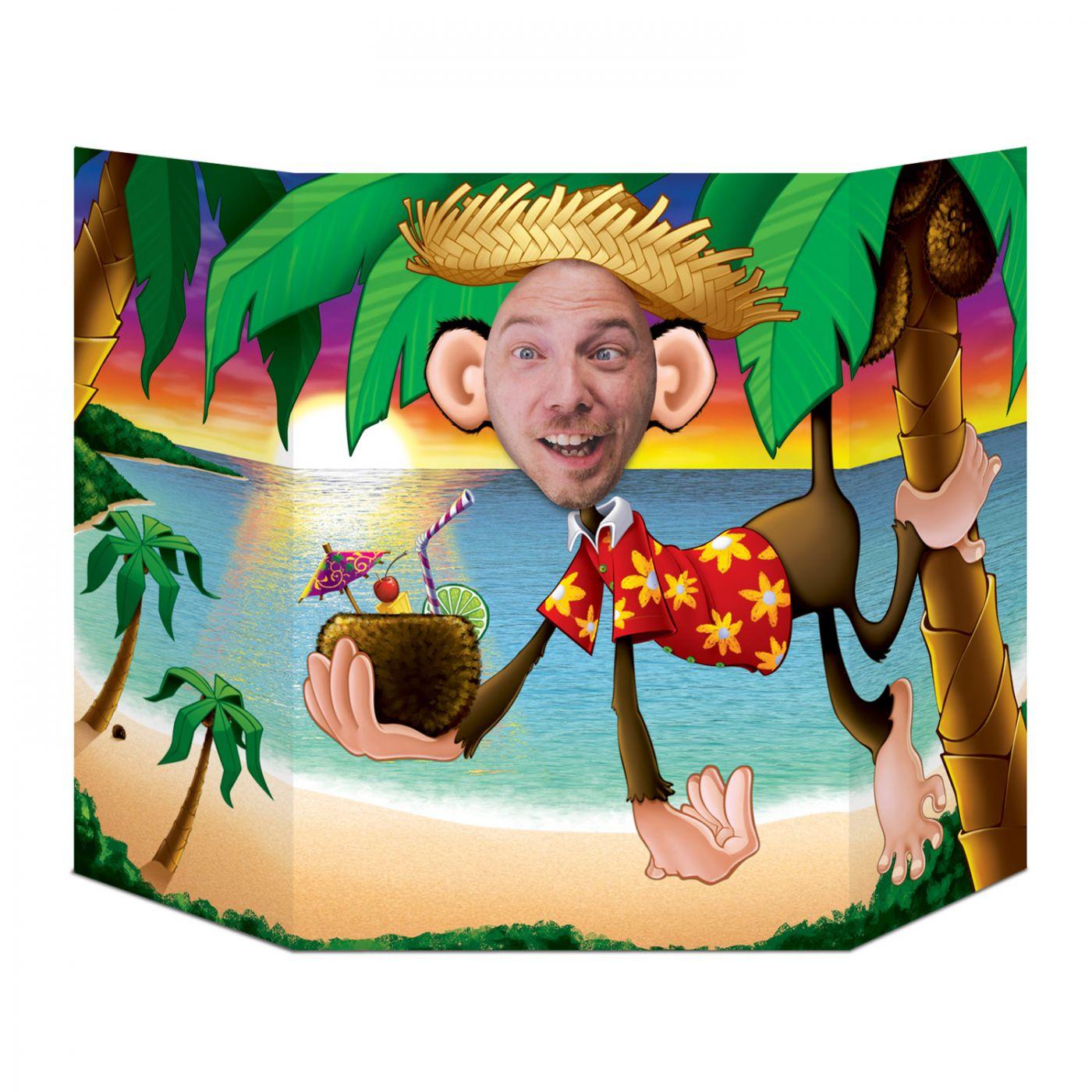 Luau Monkey Photo Prop (6) image