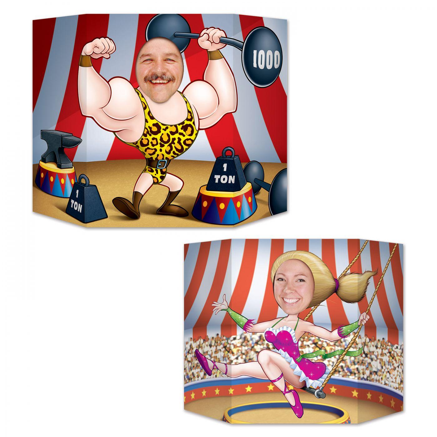 Circus Couple Photo Prop (6) image