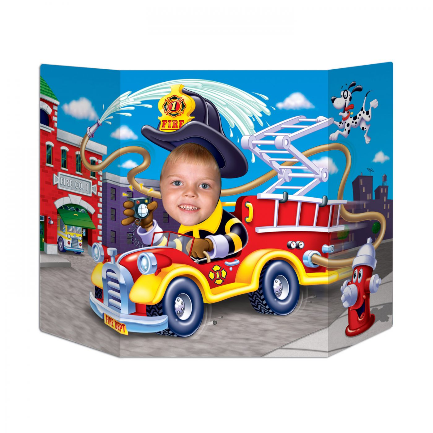 Fire Truck Photo Prop (6) image
