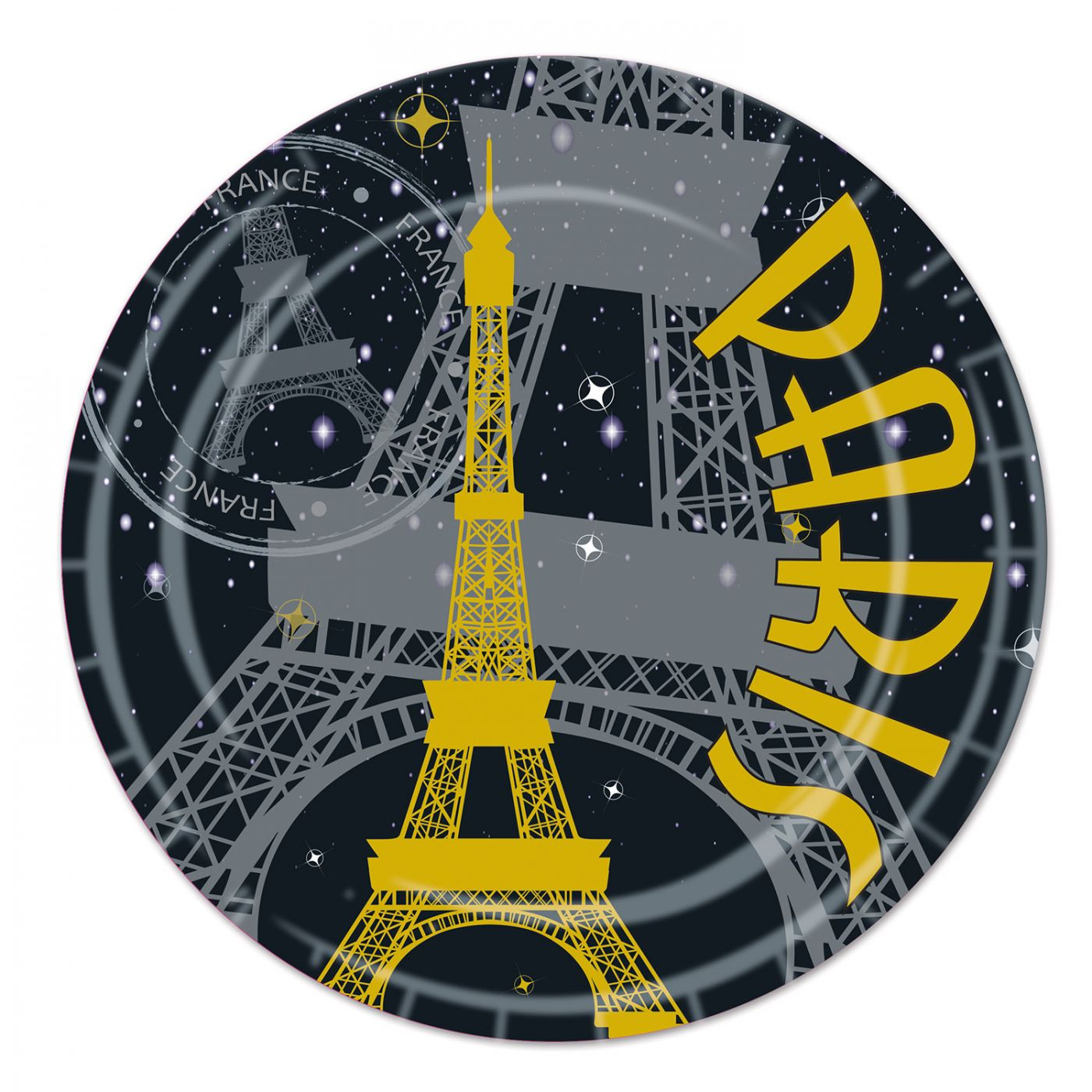 Paris Plates image