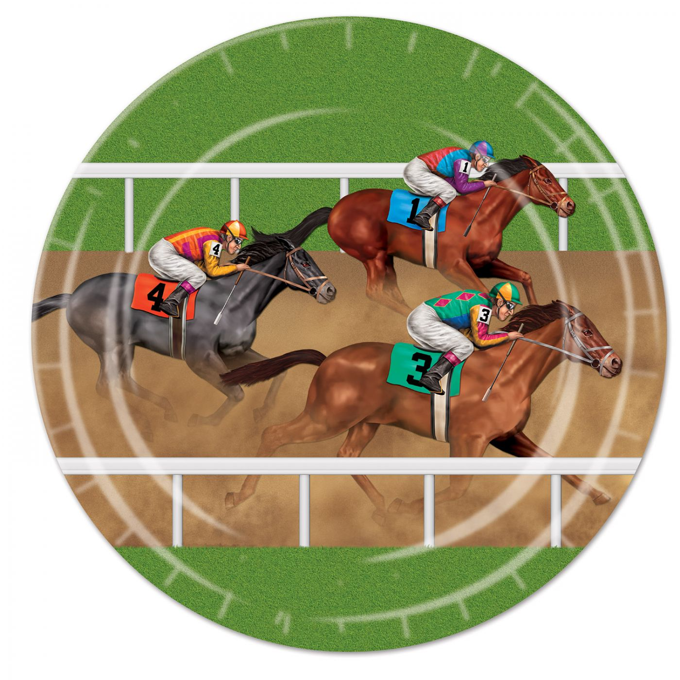 Image of Horse Racing Plates