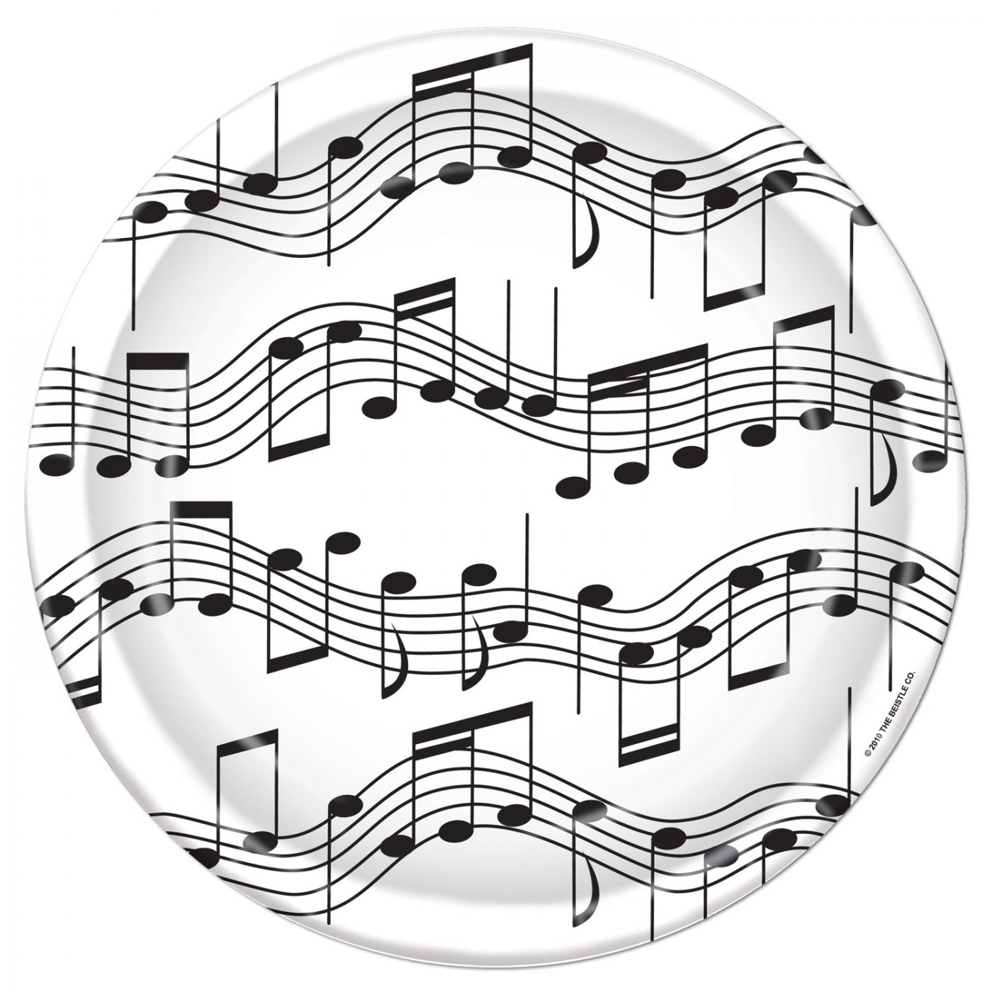 Musical Notes Plates image