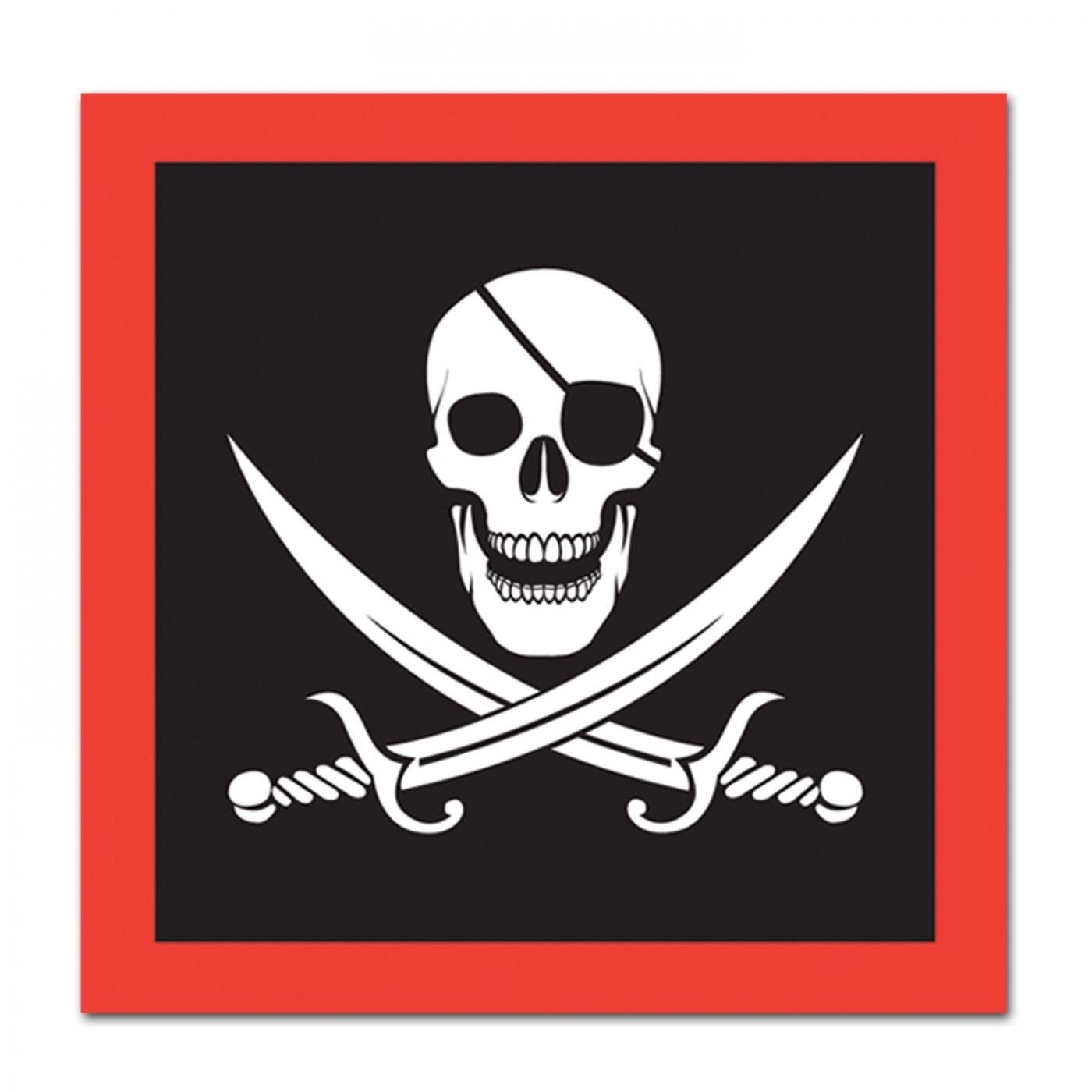 Pirate Luncheon Napkins image