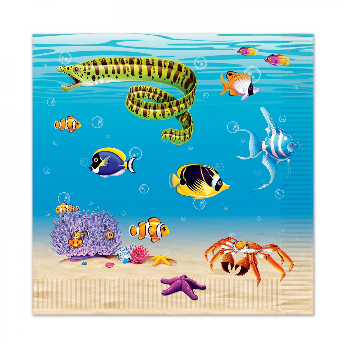 Under The Sea Luncheon Napkins image