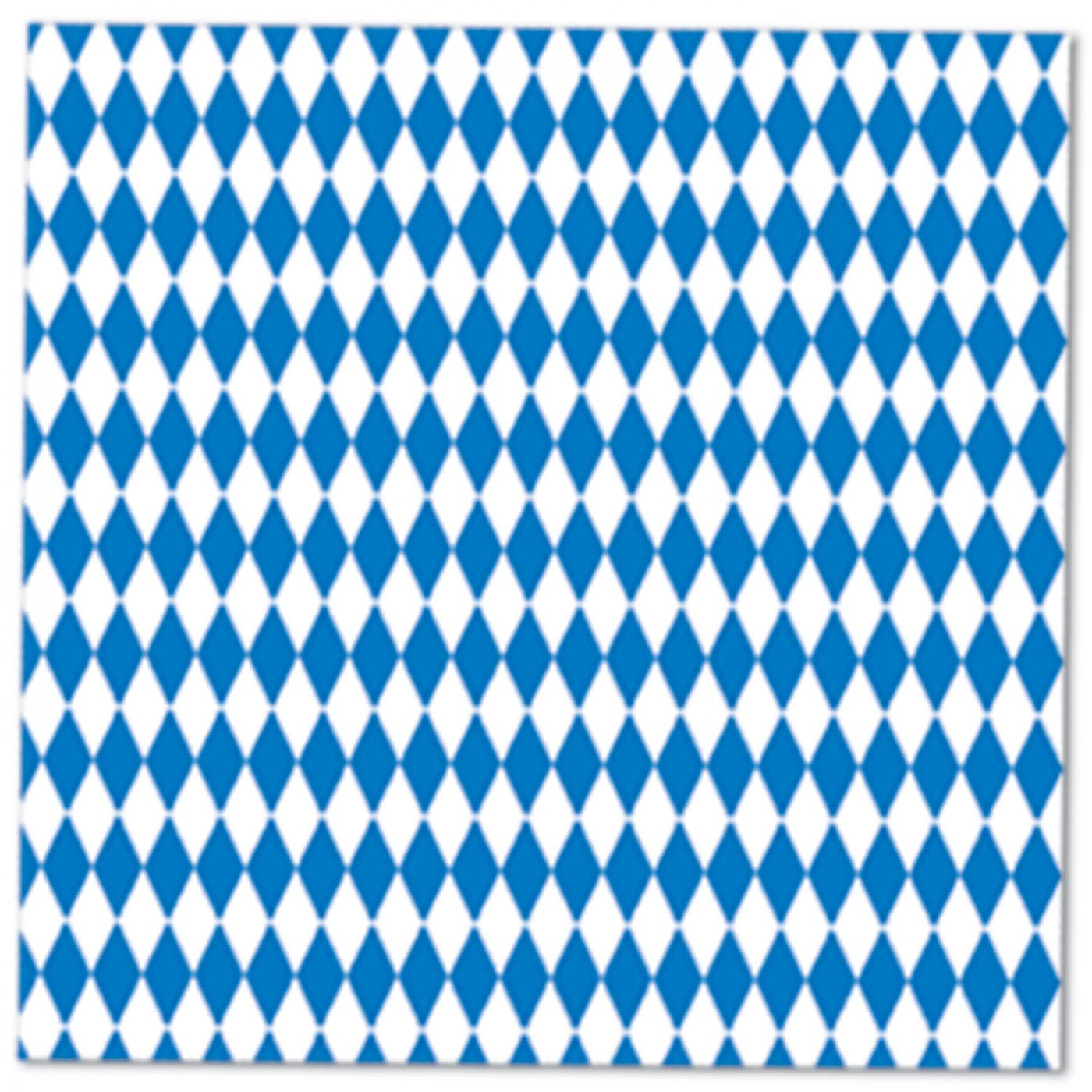 Image of Blue & White Luncheon Napkins