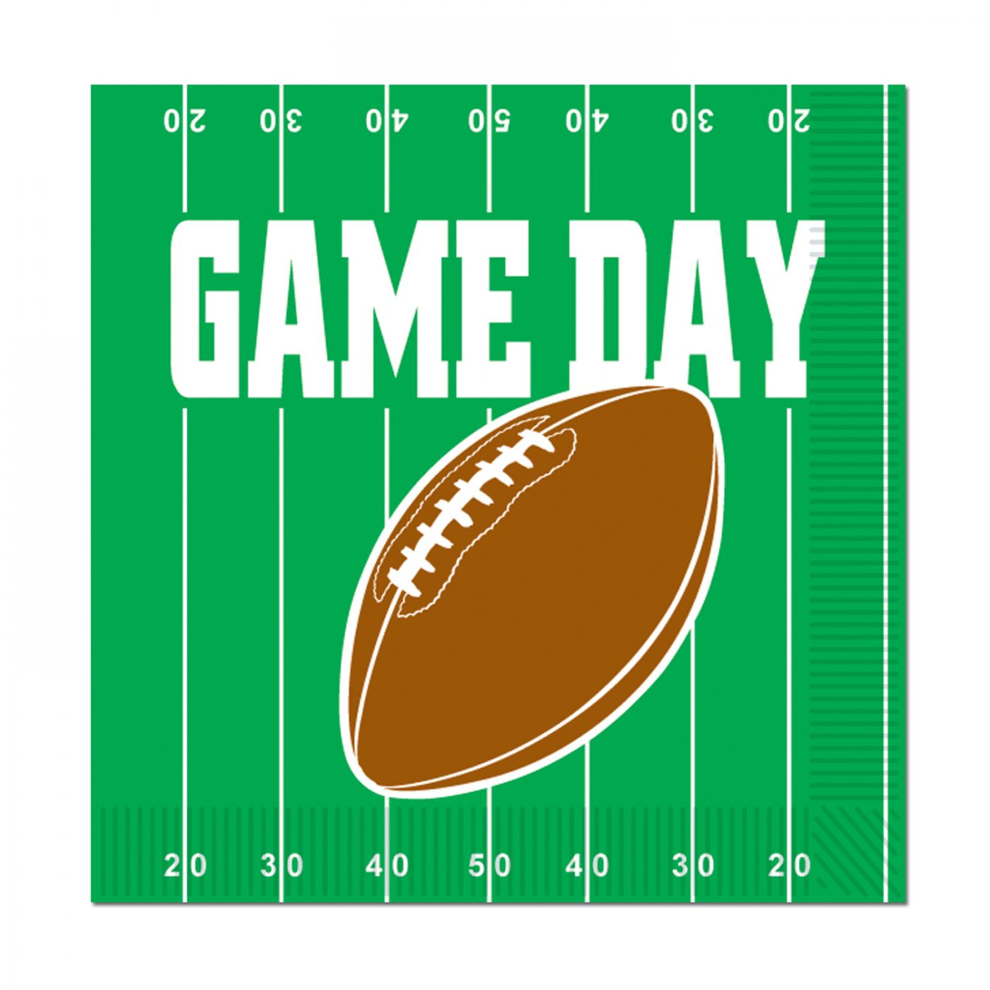 Game Day Football Luncheon Napkins image