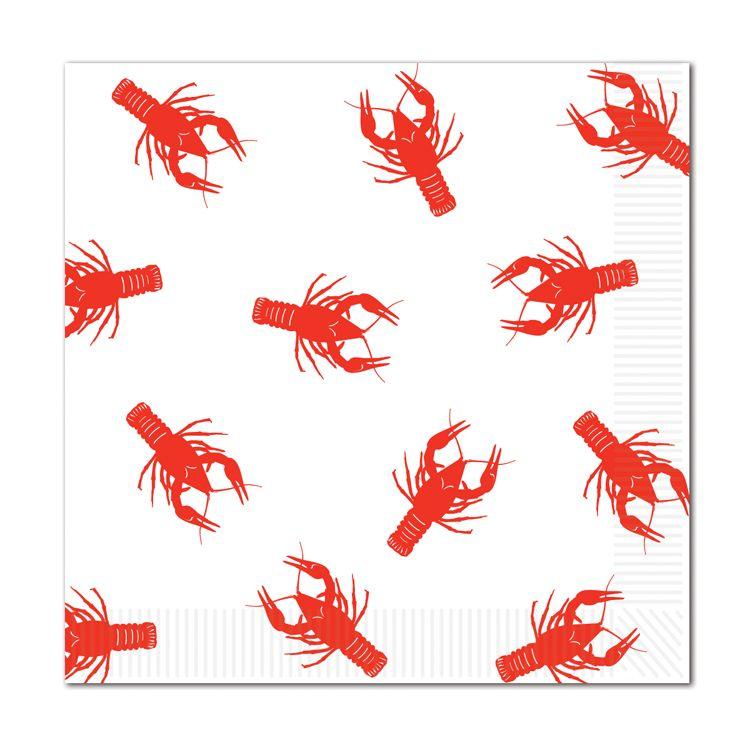 Crawfish Luncheon Napkins image