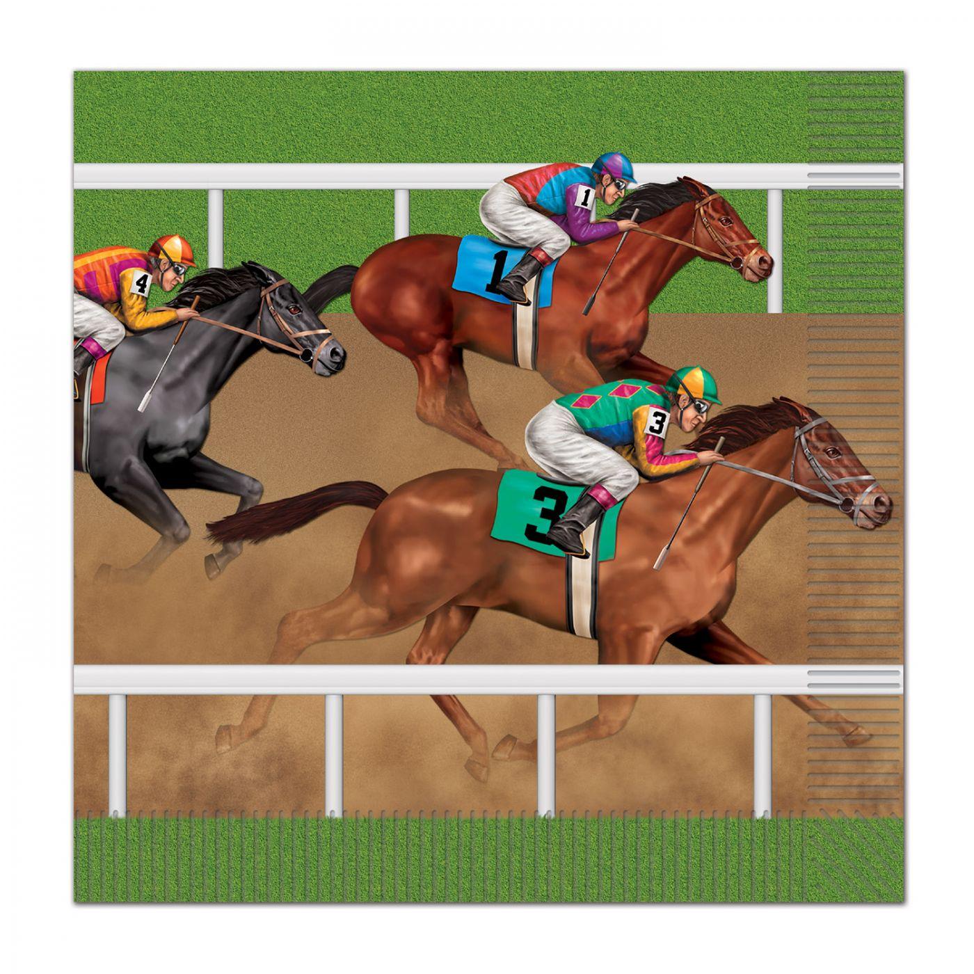 Horse Racing Luncheon Napkins image