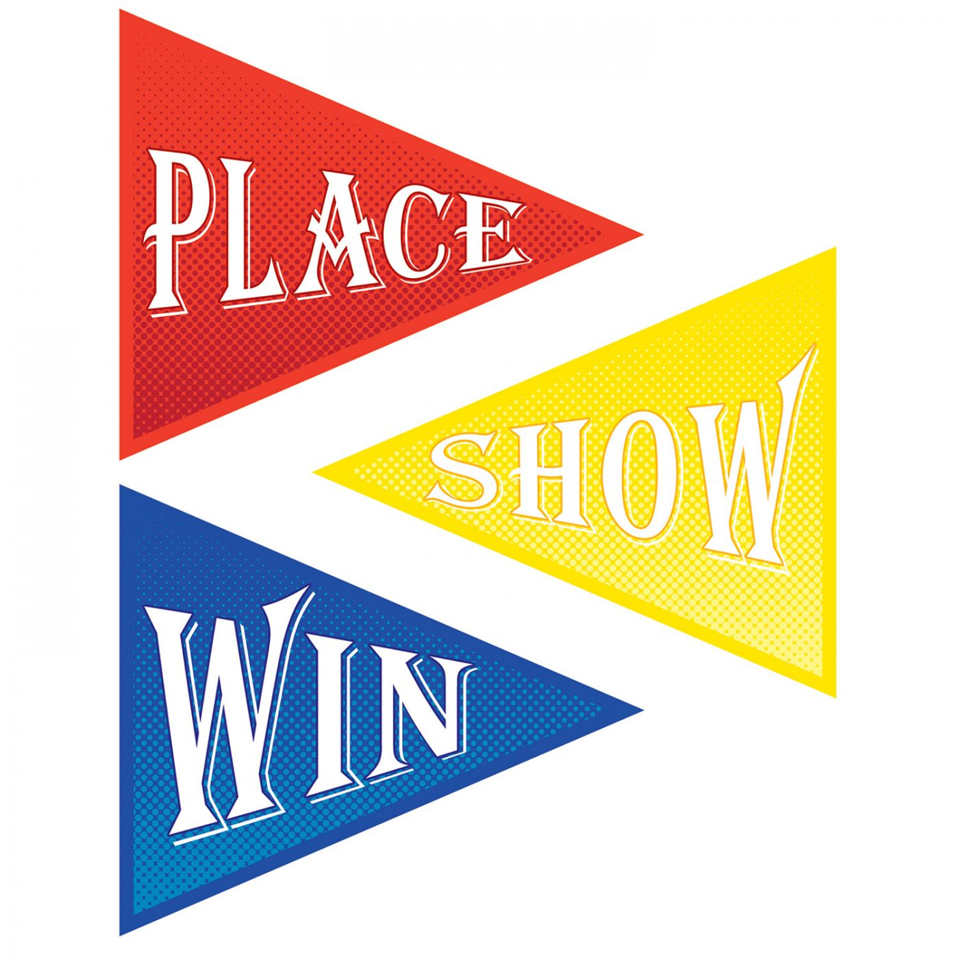 Place, Win & Show Cutouts image