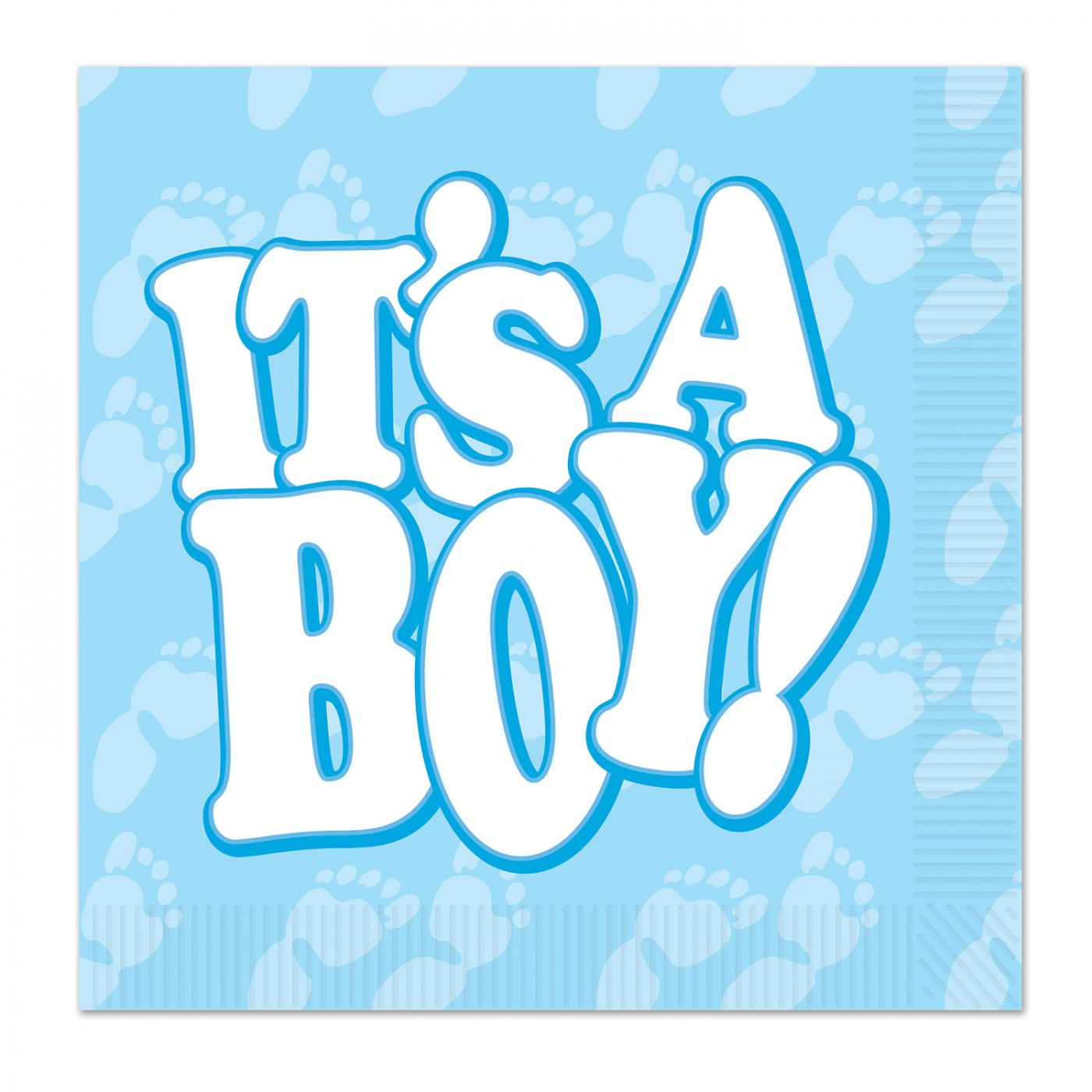 It's A Boy! Beverage Napkins image