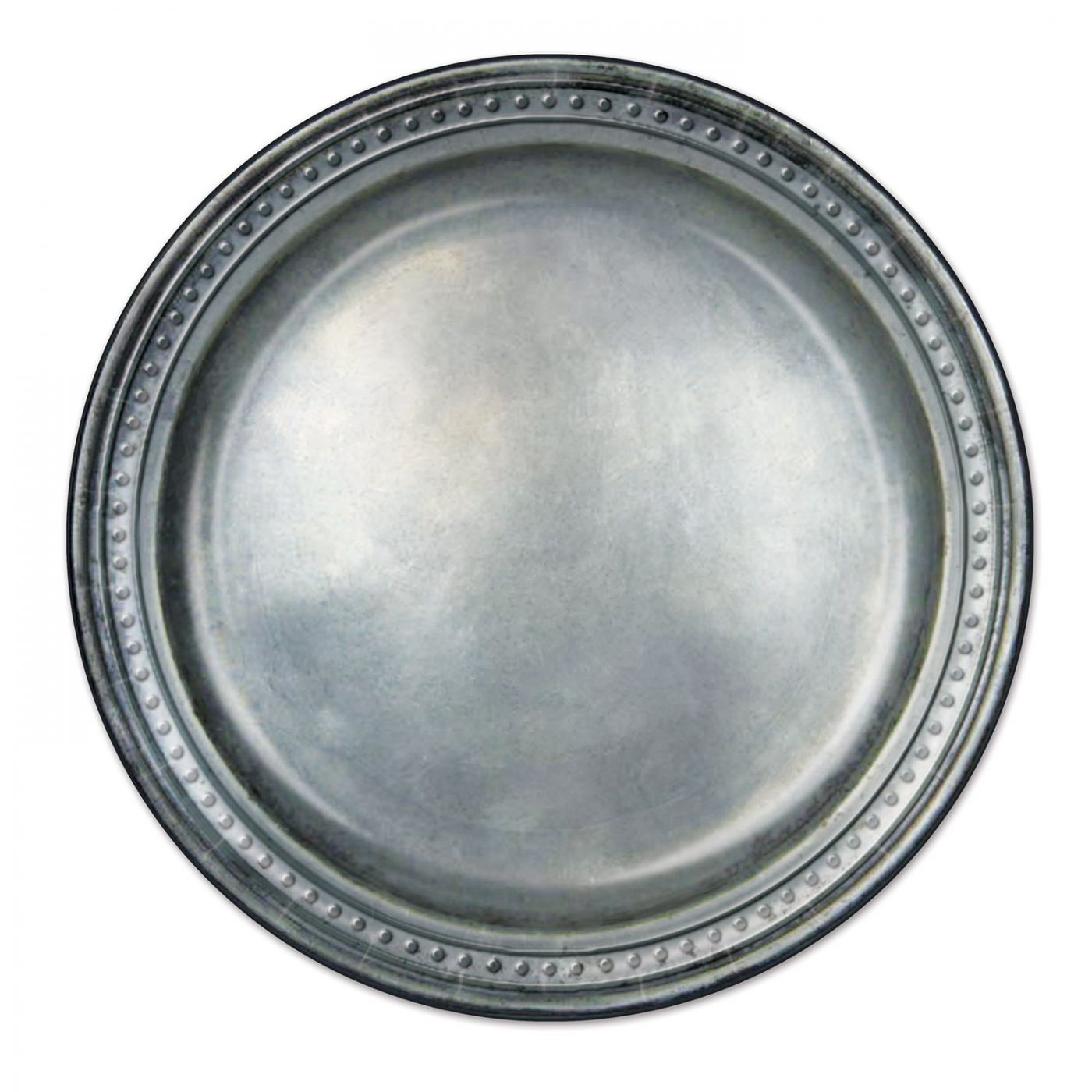 Pewter Paper Plates image