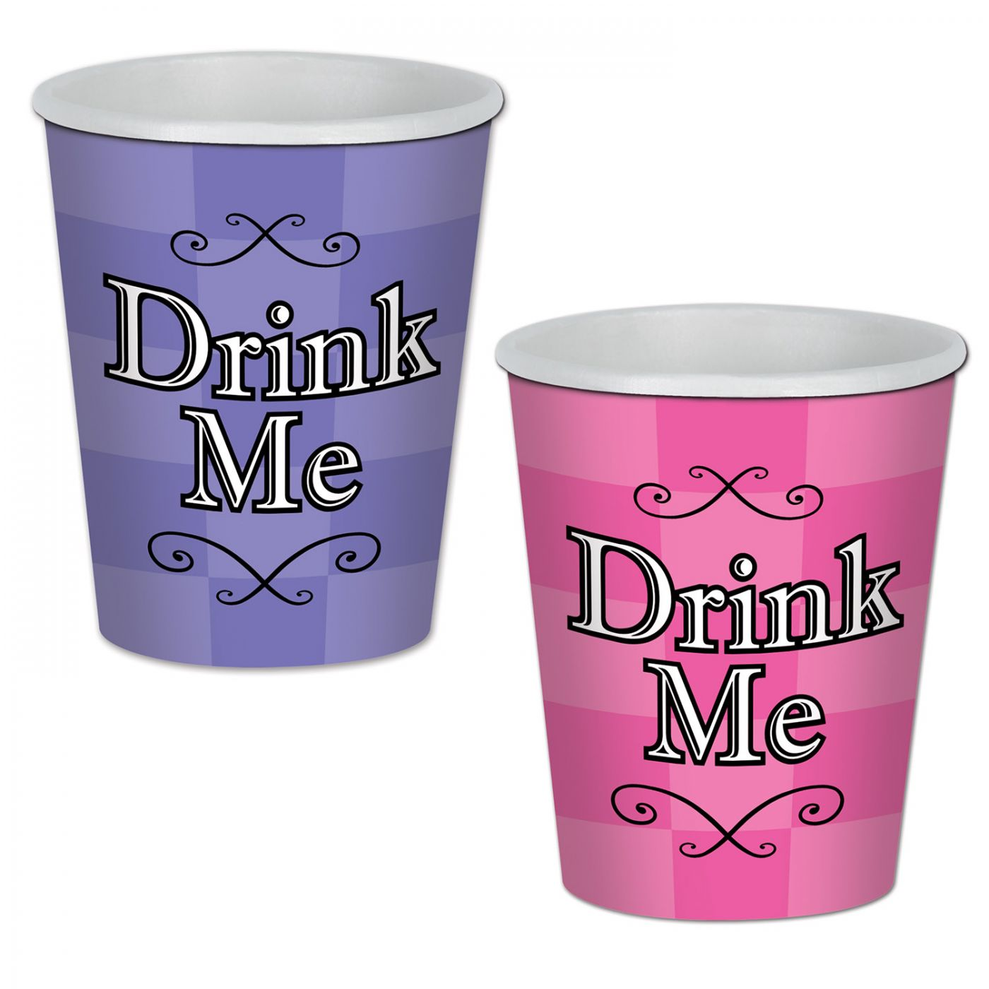 Alice In Wonderland Beverage Cups image