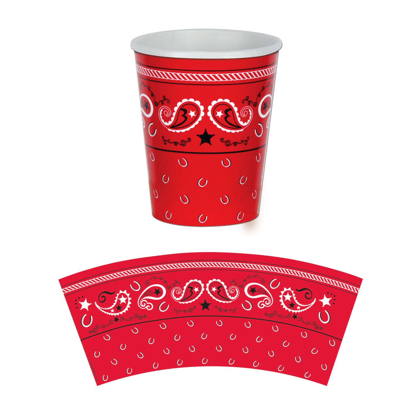 Image of Bandana Beverage Cups